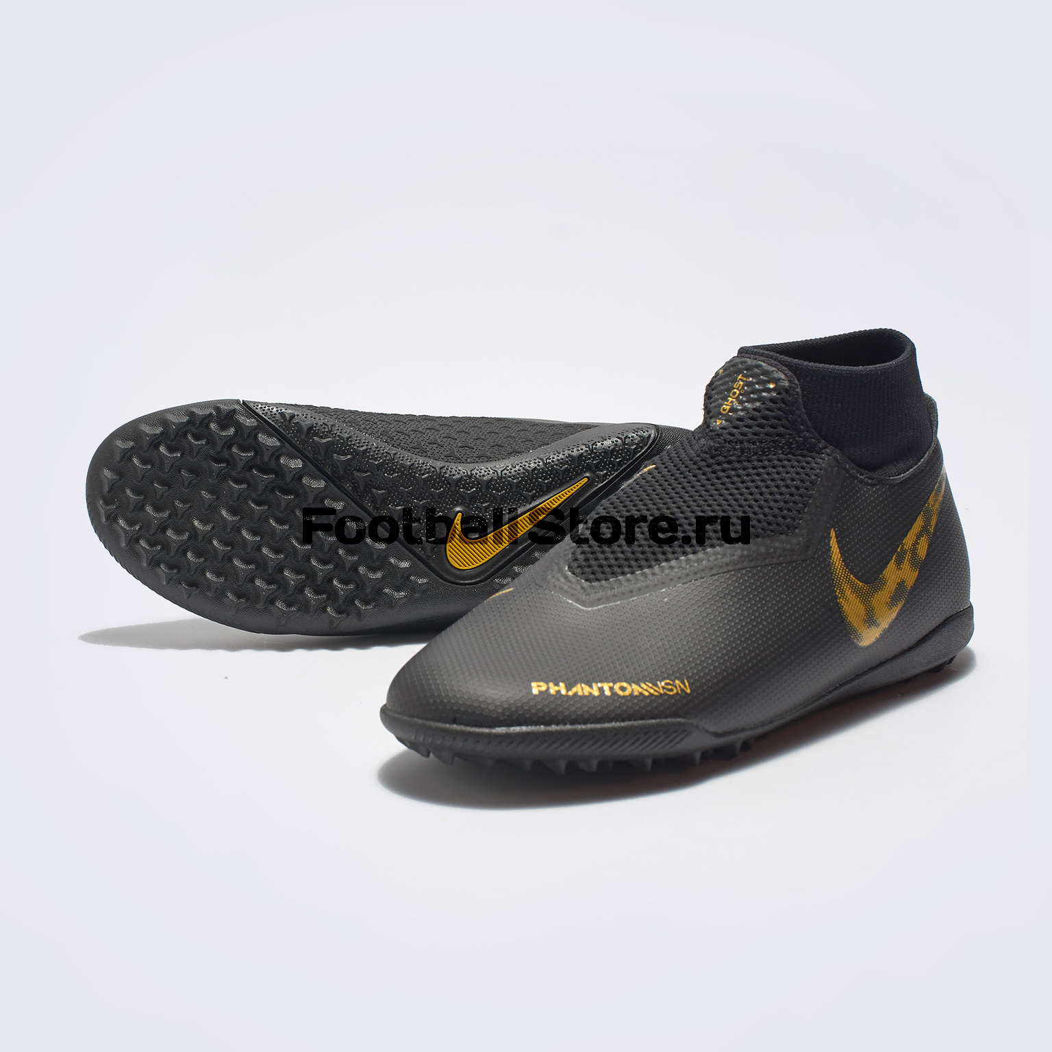 Шиповки Nike Phantom Vision Academy DF TF AO3269-077 бутсы детские nike phantom vision academy df sg aq9298 400