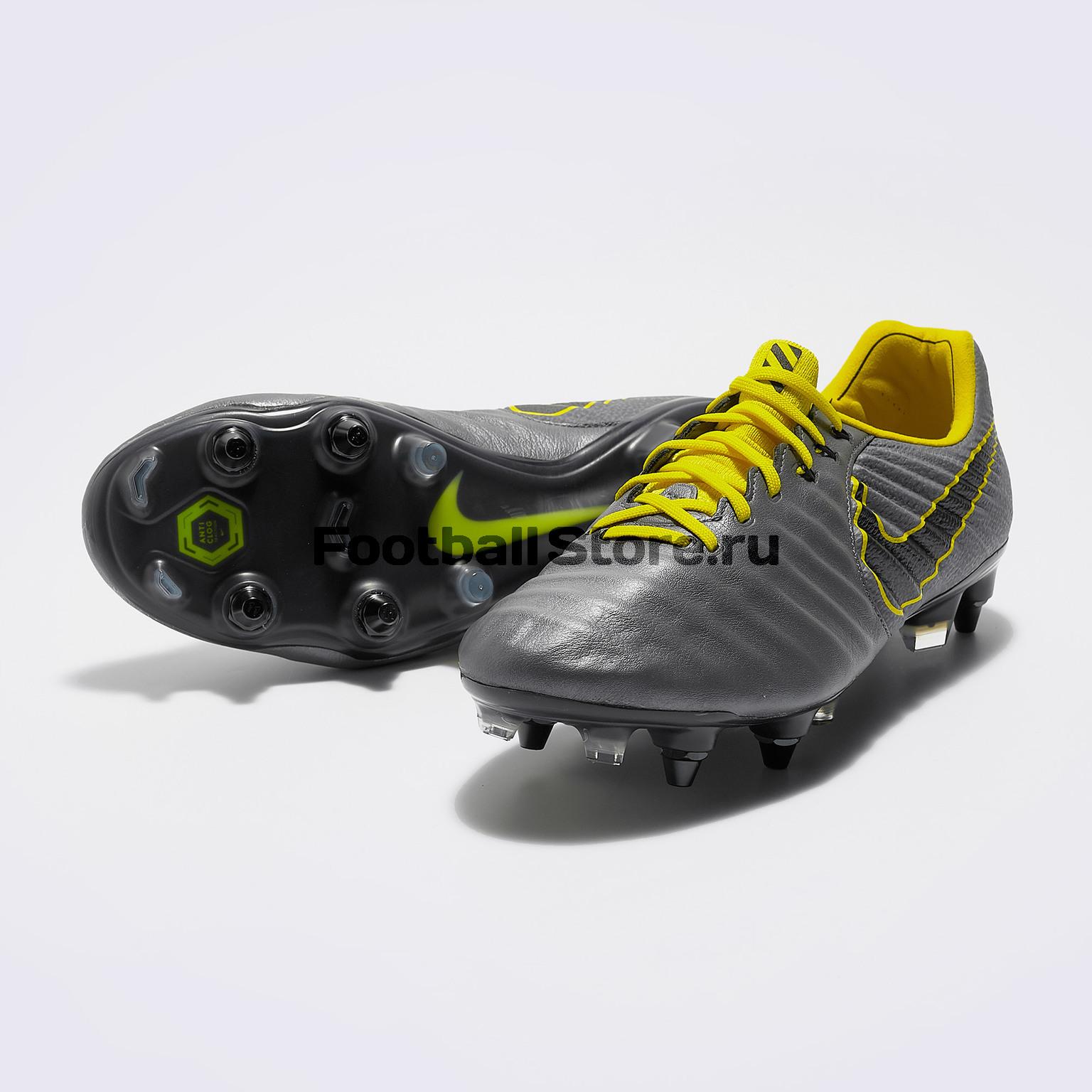 Бутсы Nike Legend 7 Elite SG-Pro AC AR4387-070 бутсы детские nike phantom vision academy df sg aq9298 400