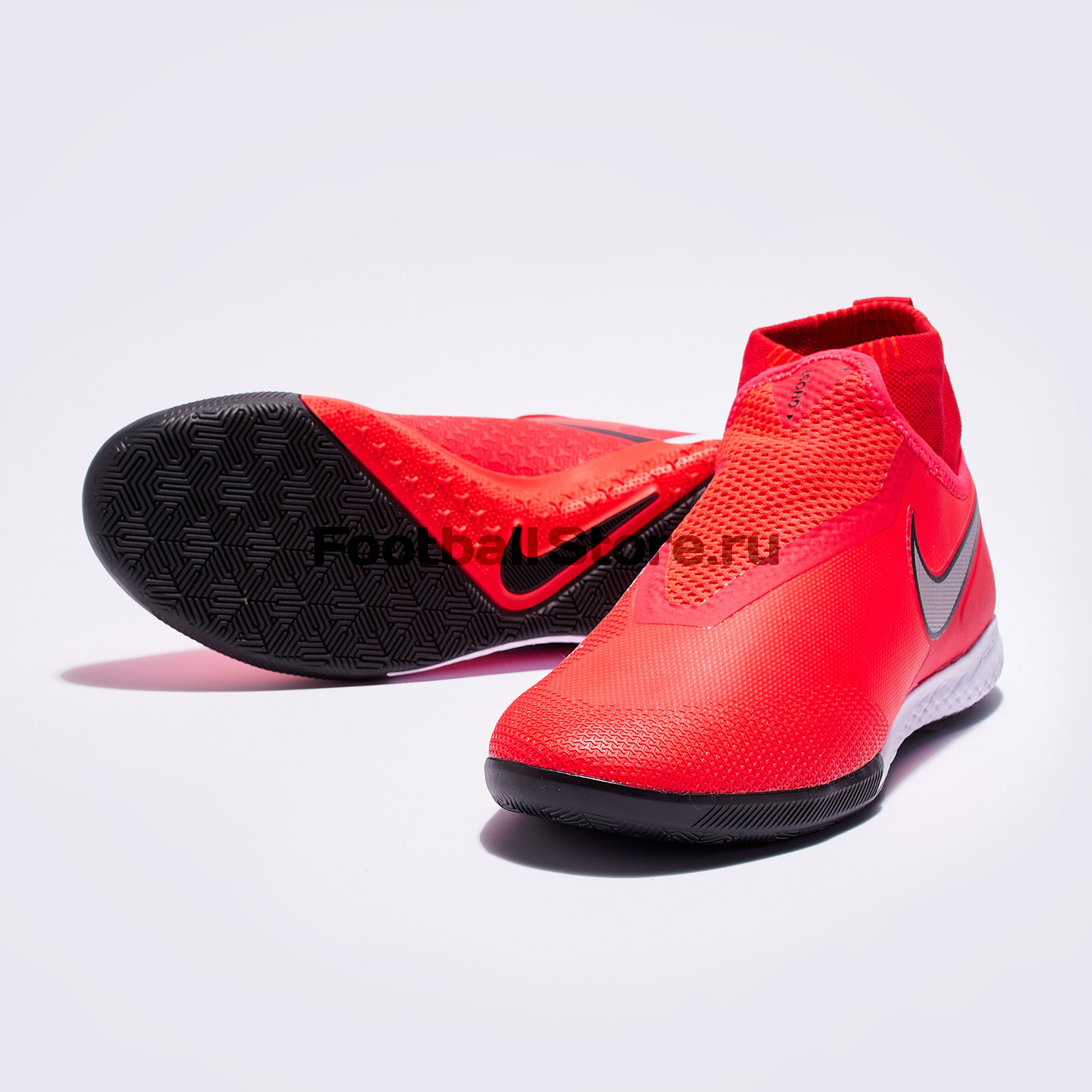 Футзалки Nike React Phantom Vision Pro DF IC AO3276-600 бутсы детские nike phantom vision academy df sg aq9298 400