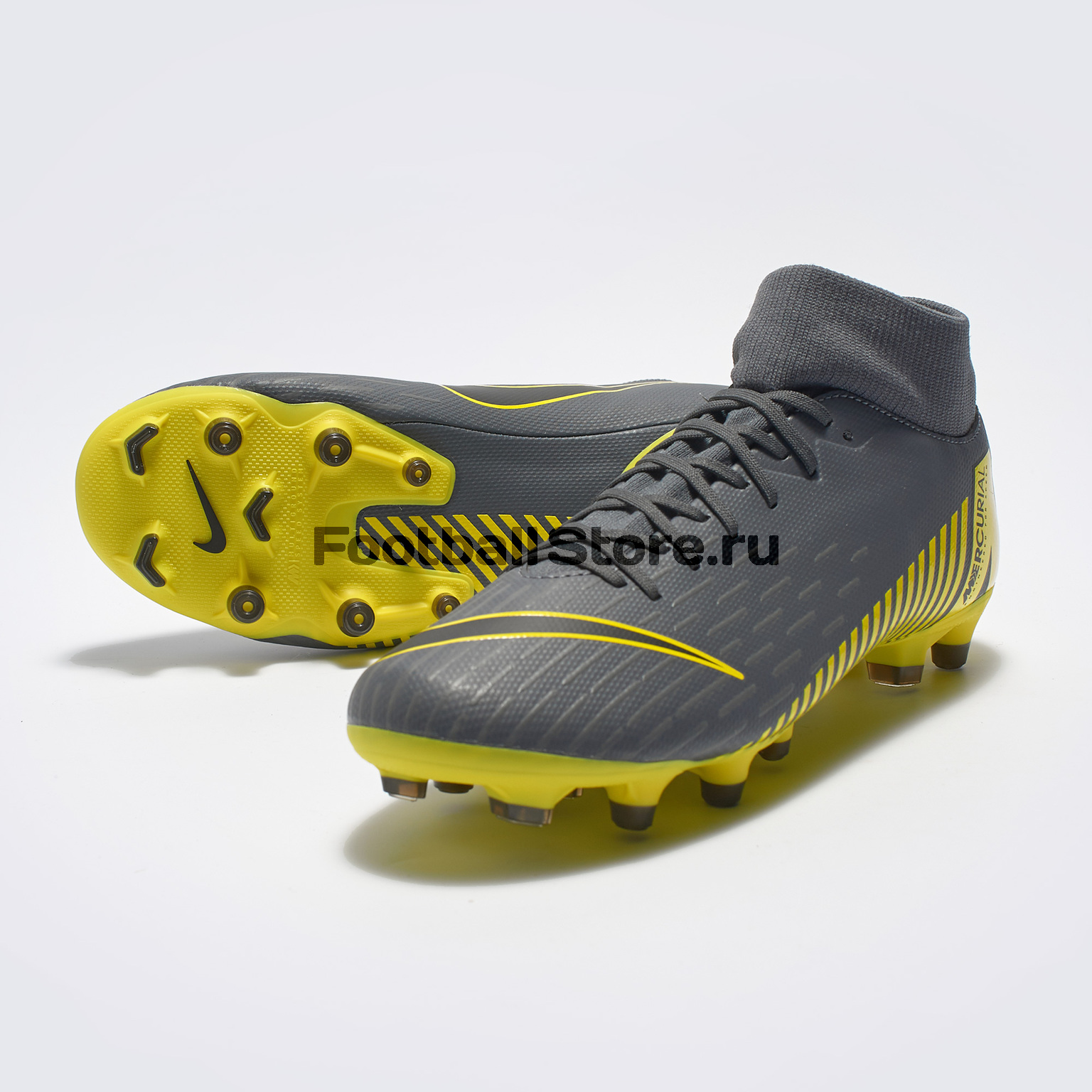 Бутсы Nike Superfly 6 Academy FG/MG AH7362-070 бутсы детские nike superfly academy gs cr7 fg mg aj3111 600
