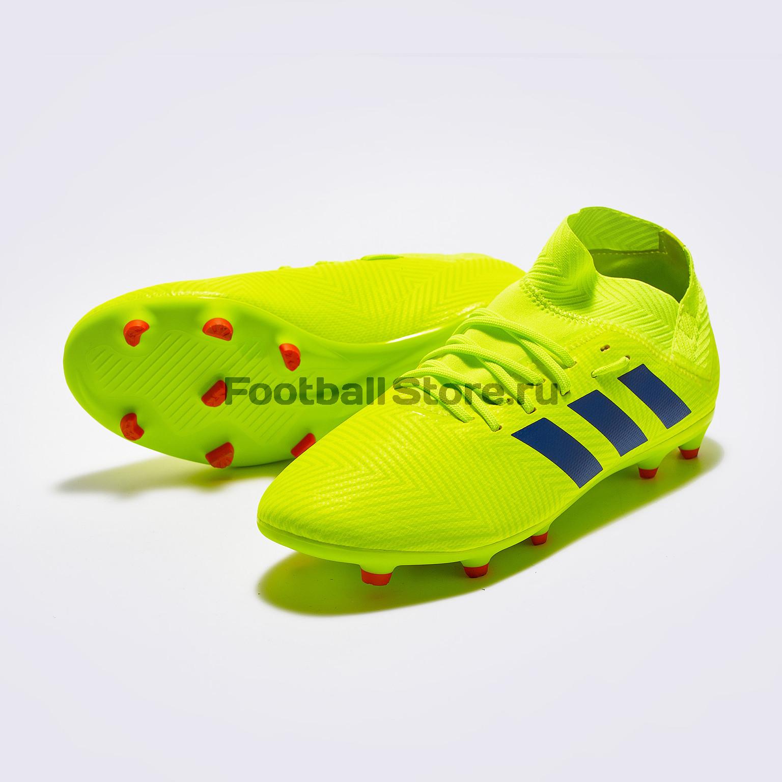 Бутсы детские Adidas Nemeziz 18.3 FG CM8505 бутсы adidas nemeziz messi 17 1 fg cp9028
