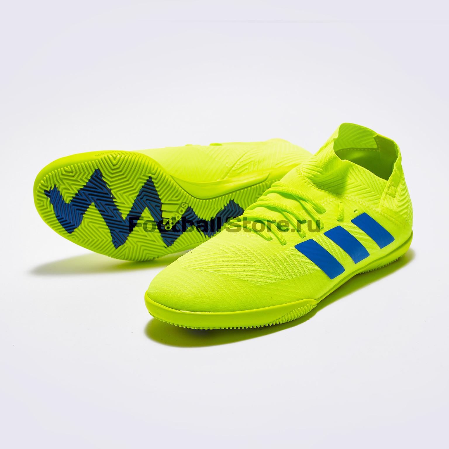 Футзалки детские Adidas Nemeziz Messi 18.3 IN CM8512 бутсы adidas nemeziz messi 17 1 fg cp9028
