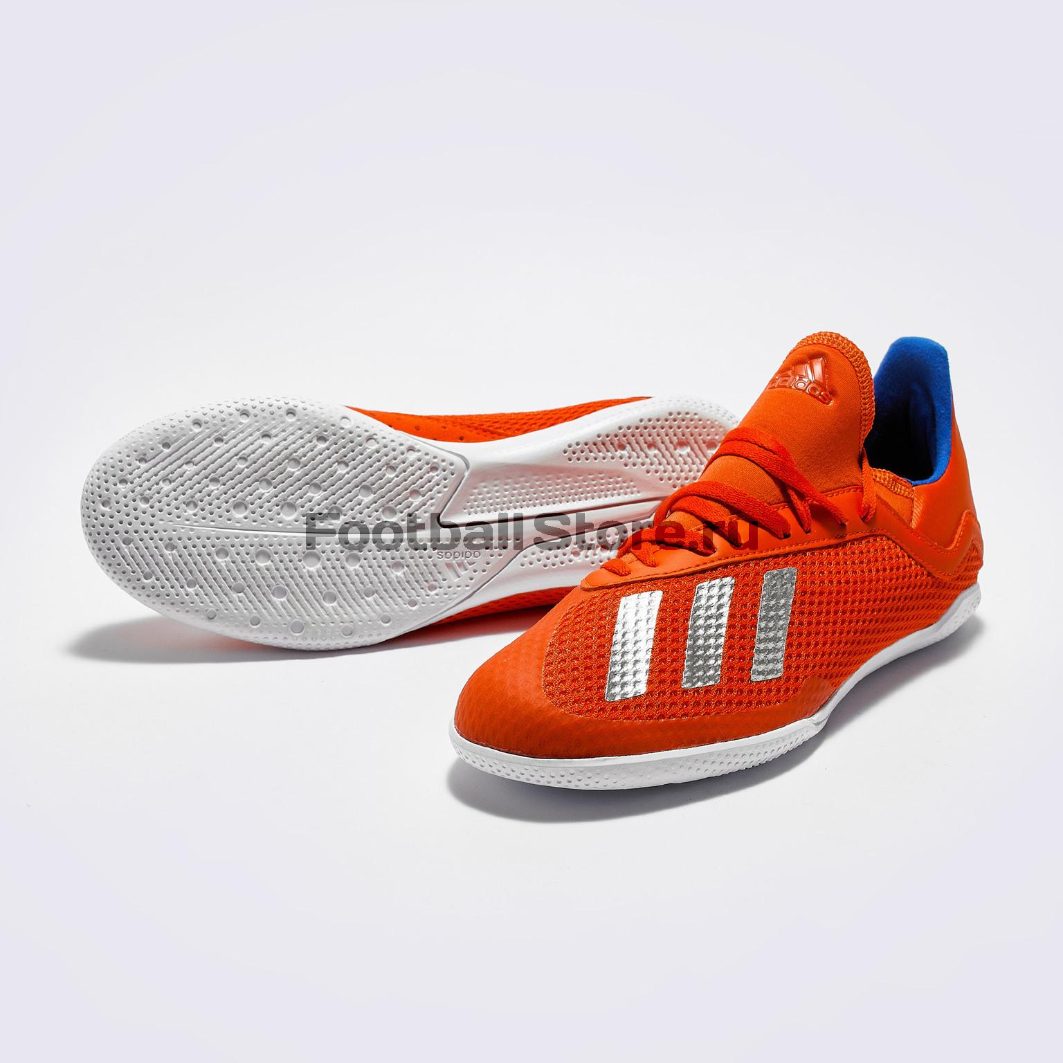 Футзалки детские Adidas X 18.3 IN BB9396