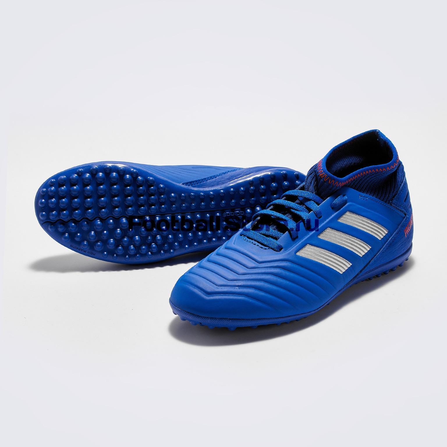 цена Шиповки детские Adidas Predator 19.3 TF CM8546