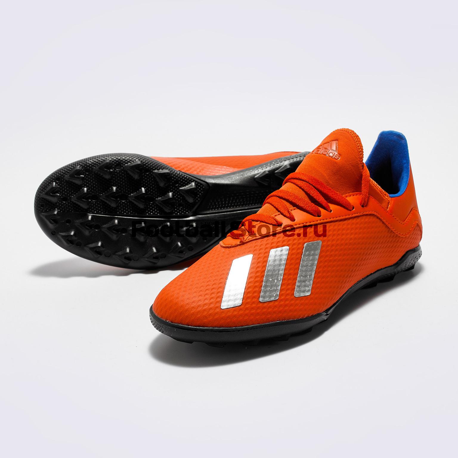 Шиповки детские Adidas X 18.3 TF BB9403 adidas топ tf tank solid