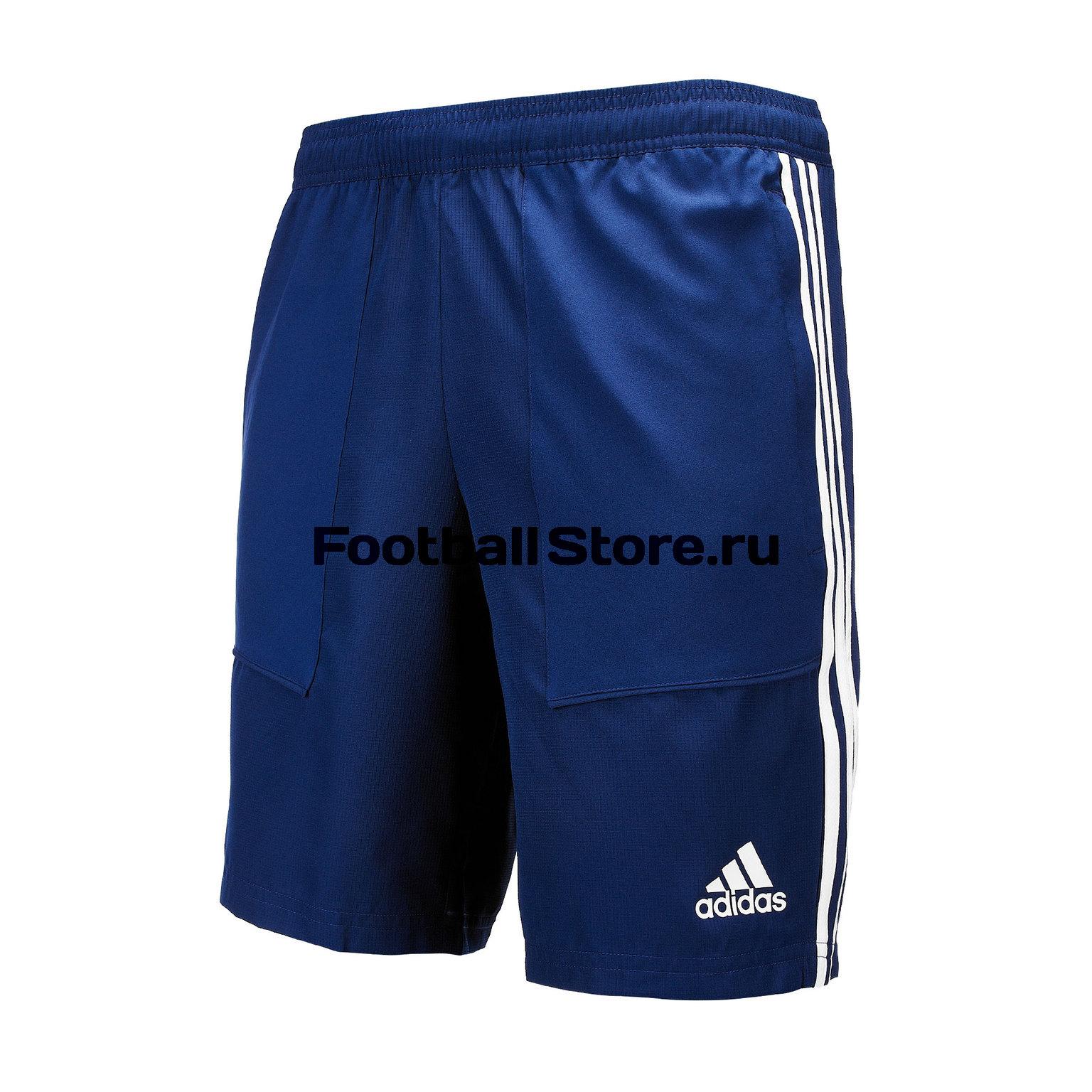 Шорты тренировочные Adidas Tiro19 Wov Sho DT5782 шорты для мальчика adidas tiro17 wov shoy цвет черный ay2892 размер 128