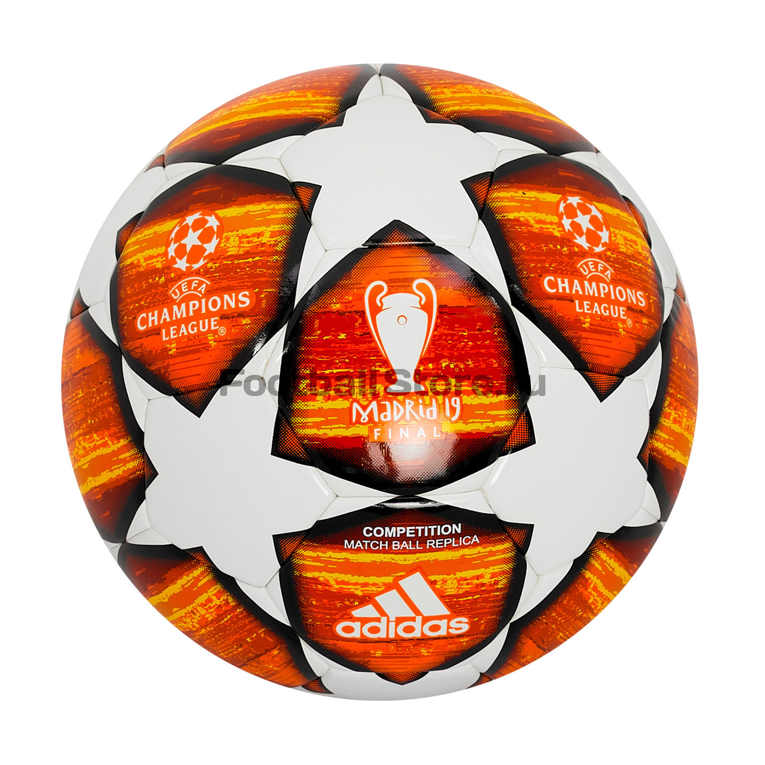 Футбольный мяч Adidas Лиги чемпионов Finale Madrid DN8687 мяч футбольный torres vision resposta fifa quality pro размер 5