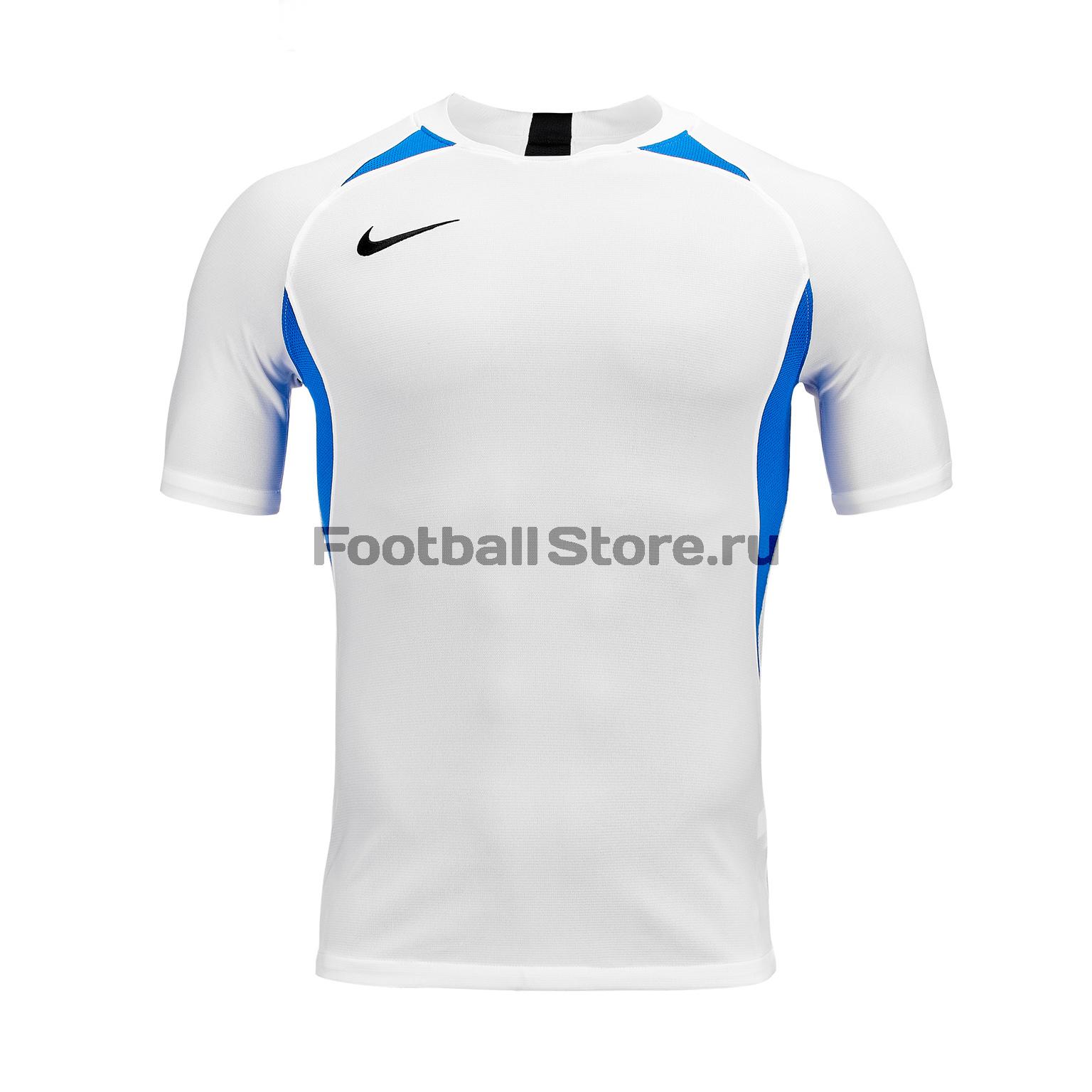 Футболка игровая Nike Dry Legend JSY SS AJ0998-102 футболка игровая nike dry tiempo prem jsy ss 894230 412