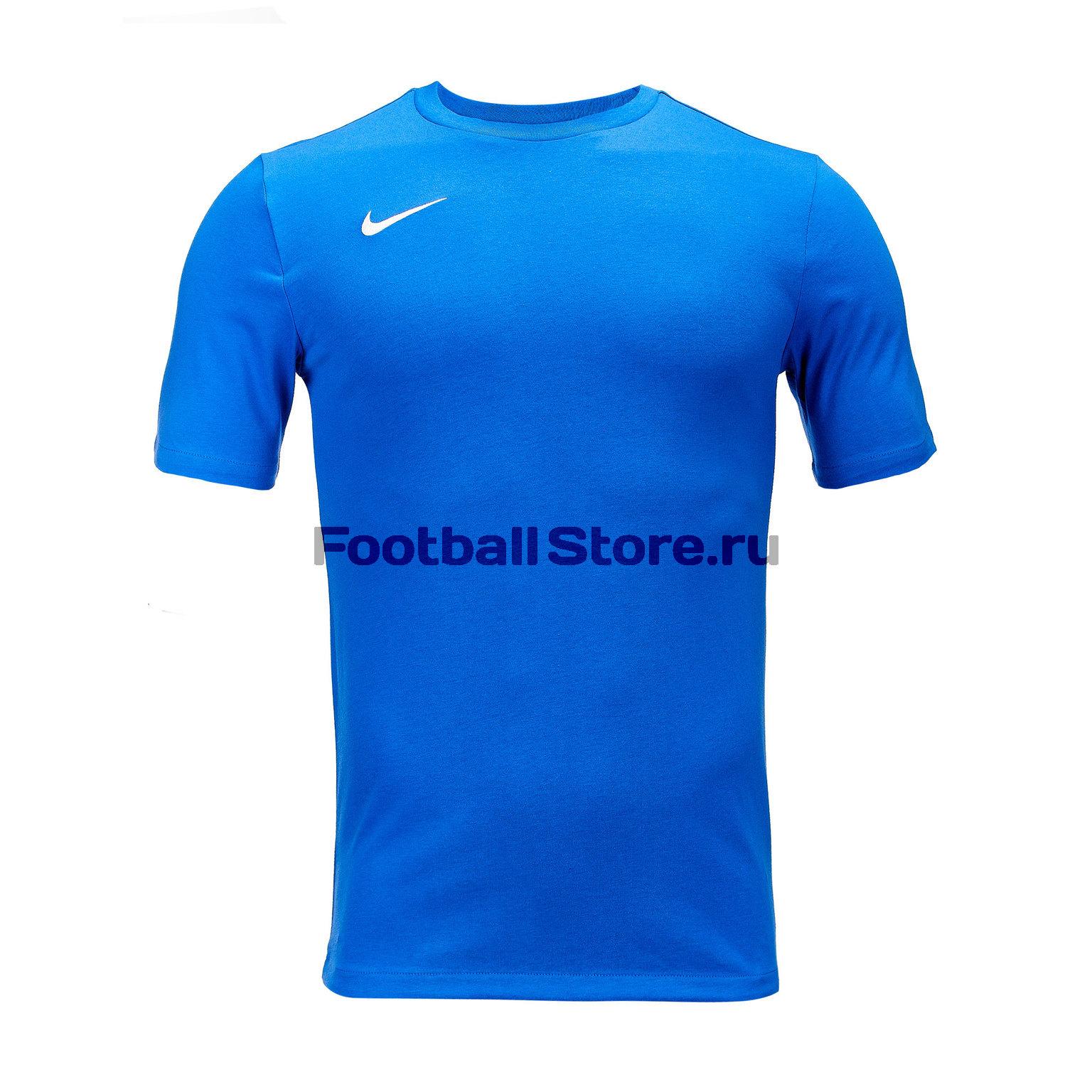 Футболка хлопковая Nike Tee Club19 SS AJ1504-463 цена