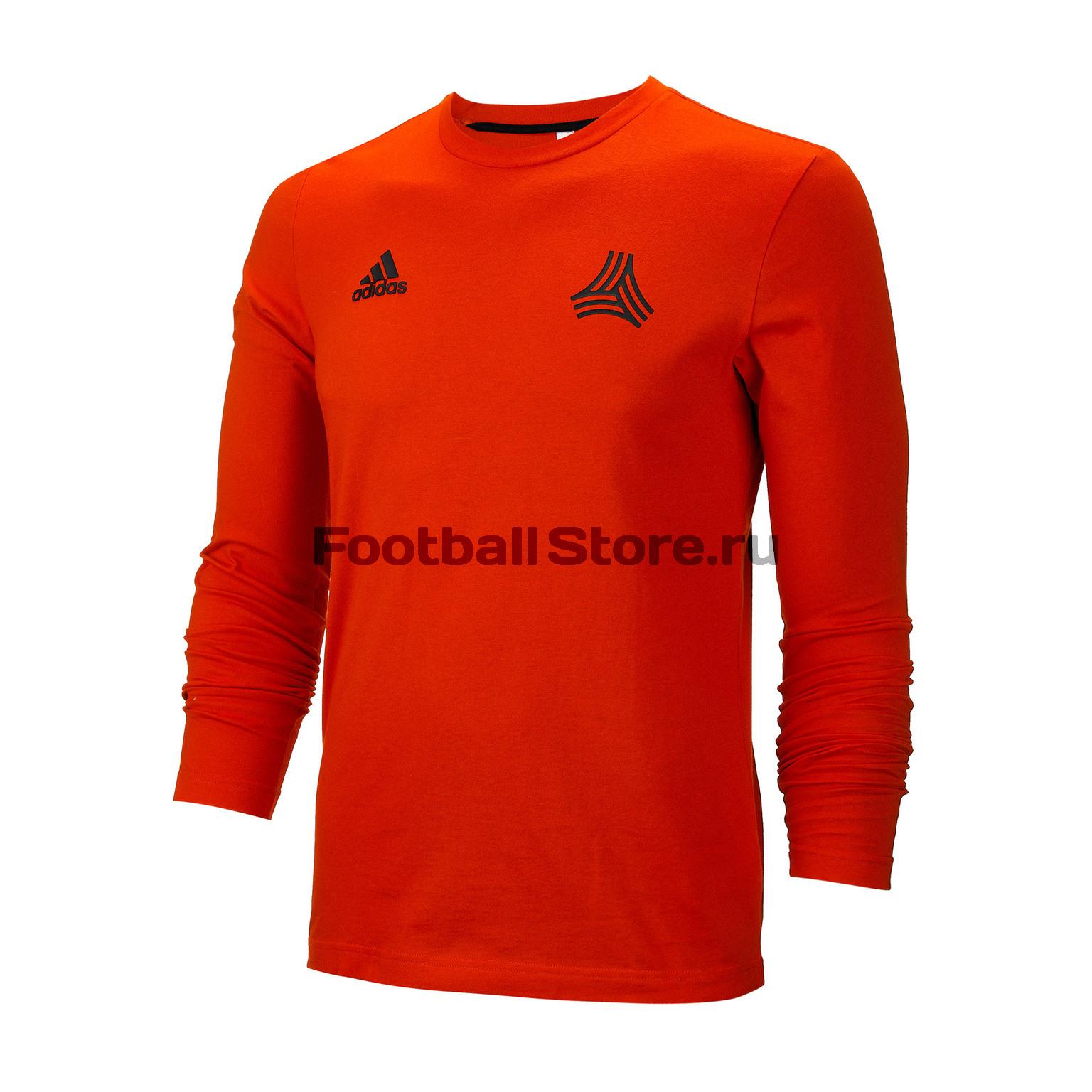 Футболка с длинным рукавом Adidas Tan Gr Tee LS DT9432 футболка с длинным рукавом asics 156859 0904 man long sleeve tee