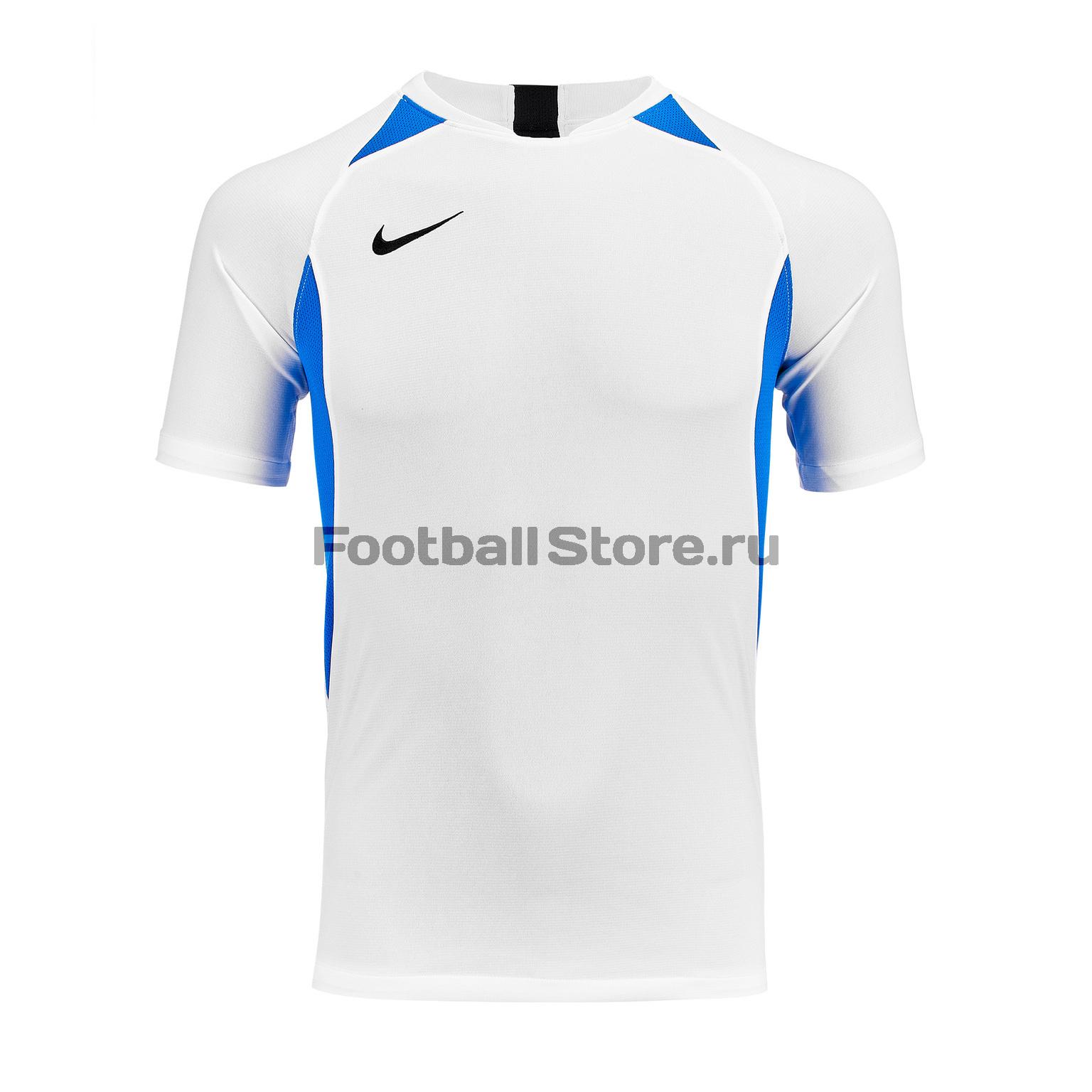 Футболка подростковая Nike Dry Legend SS AJ1010-102 футболка игровая nike dry tiempo prem jsy ss 894230 411