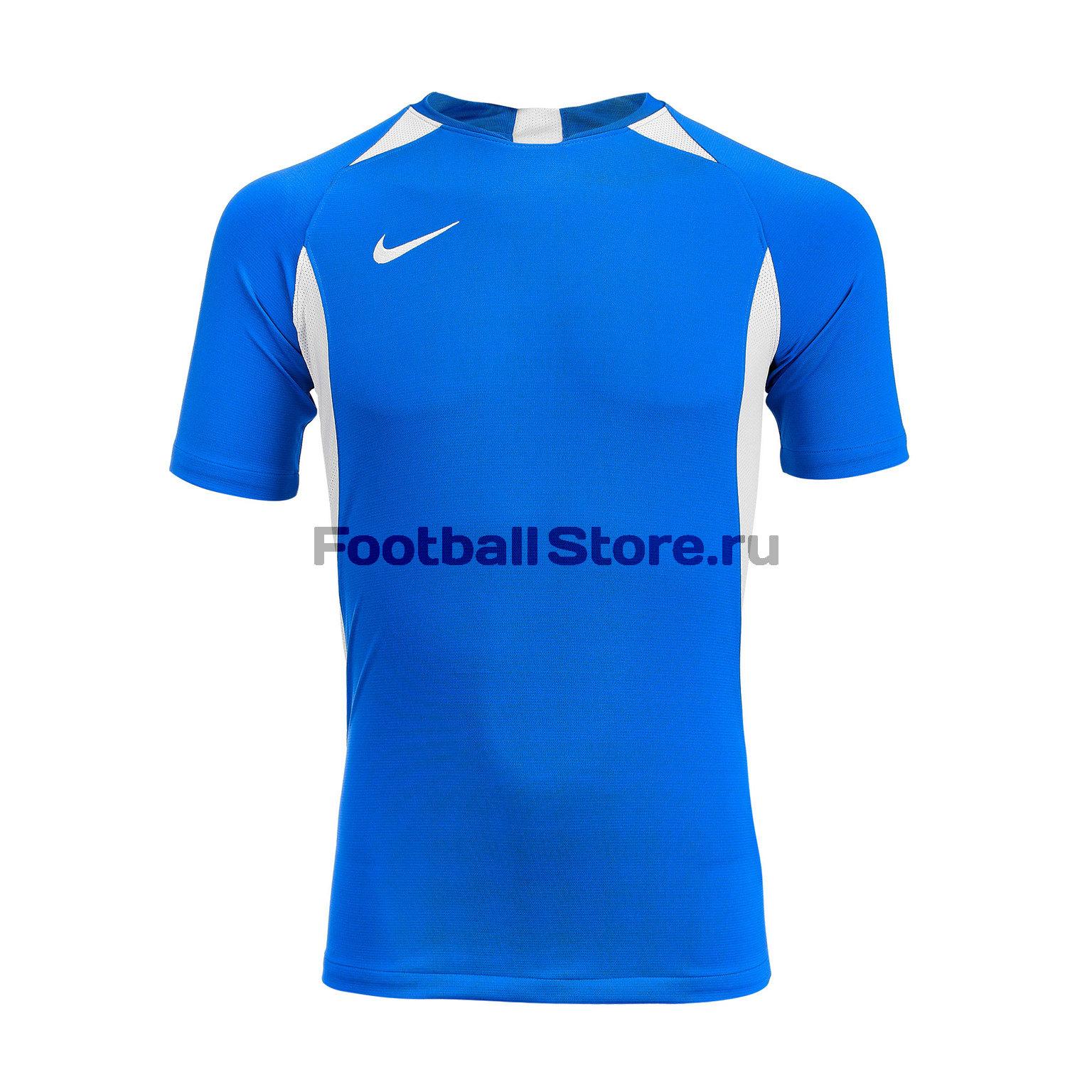 Футболка подростковая Nike Dry Legend SS AJ1010-463 футболка игровая nike dry tiempo prem jsy ss 894230 411
