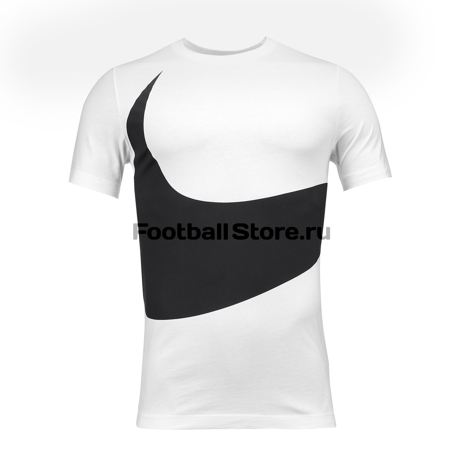 Футболка хлопковая Nike Tee HBR Swoosh 1 AR5191-103 цена