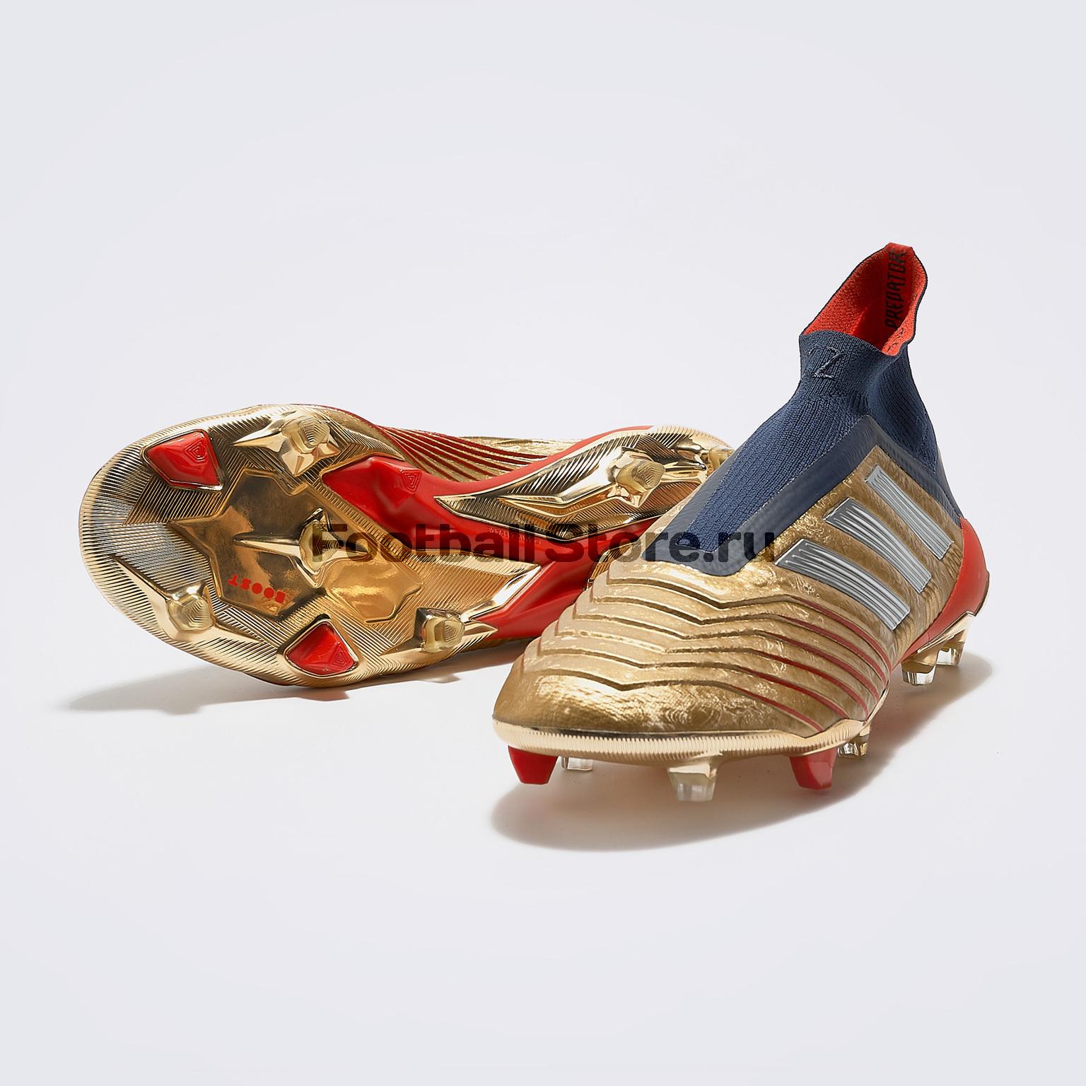 Бутсы Adidas Predator 19+ FG Zidane/ Beckham boots G27781 zidane
