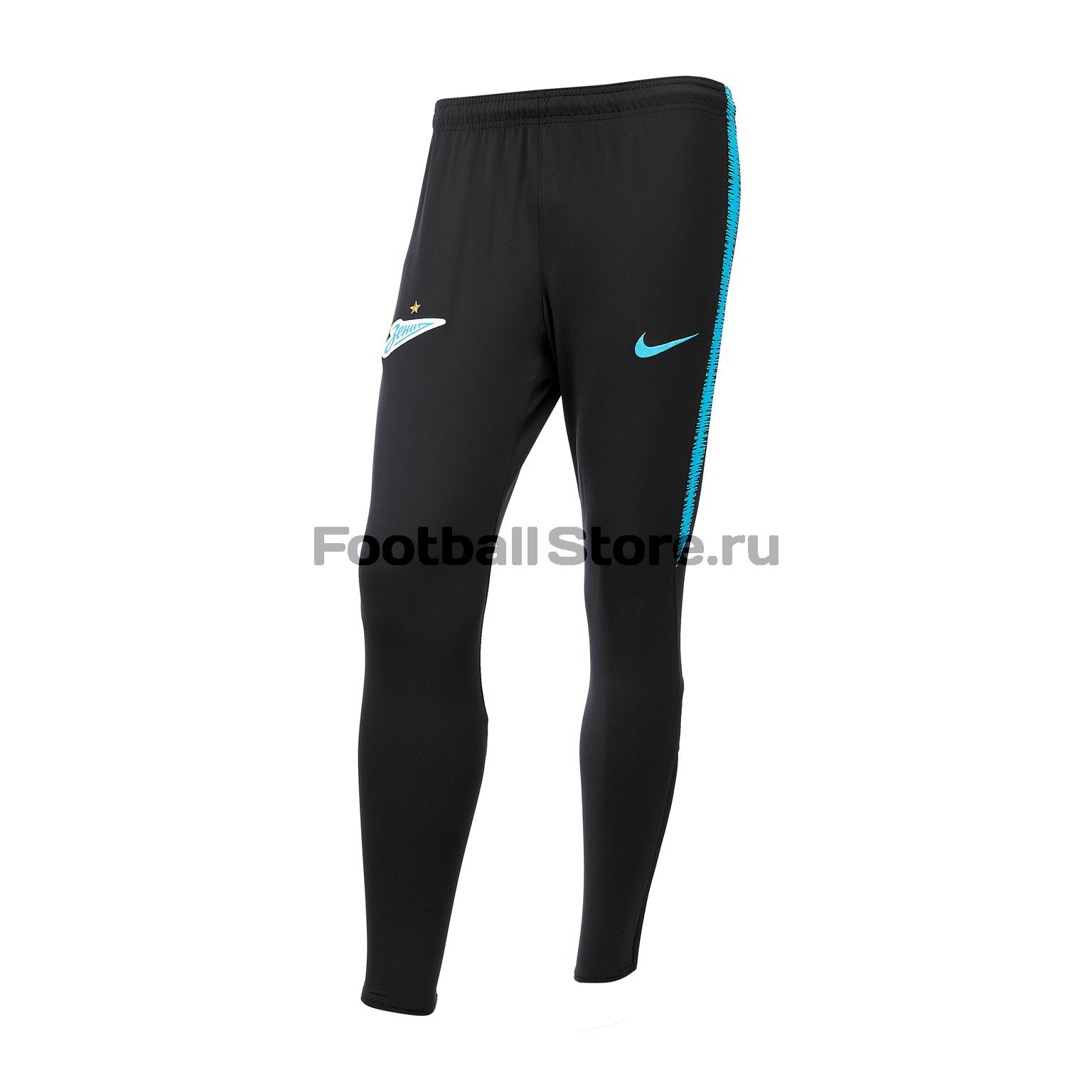 Брюки тренировочные Nike Zenit 2018/19 брюки тренировочные nike сборной бразилии 893122 454