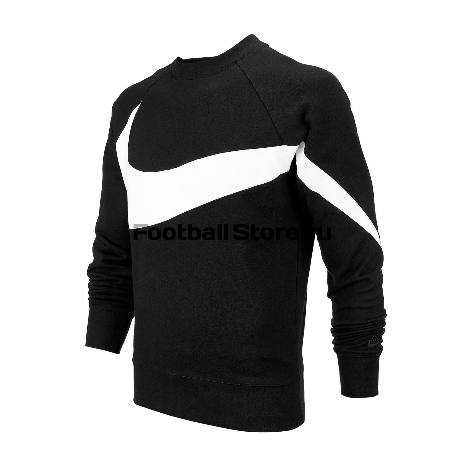 Свитшот Nike NSW HBR CRW FT AR3088-012 платья nike платье w nsw drss ft