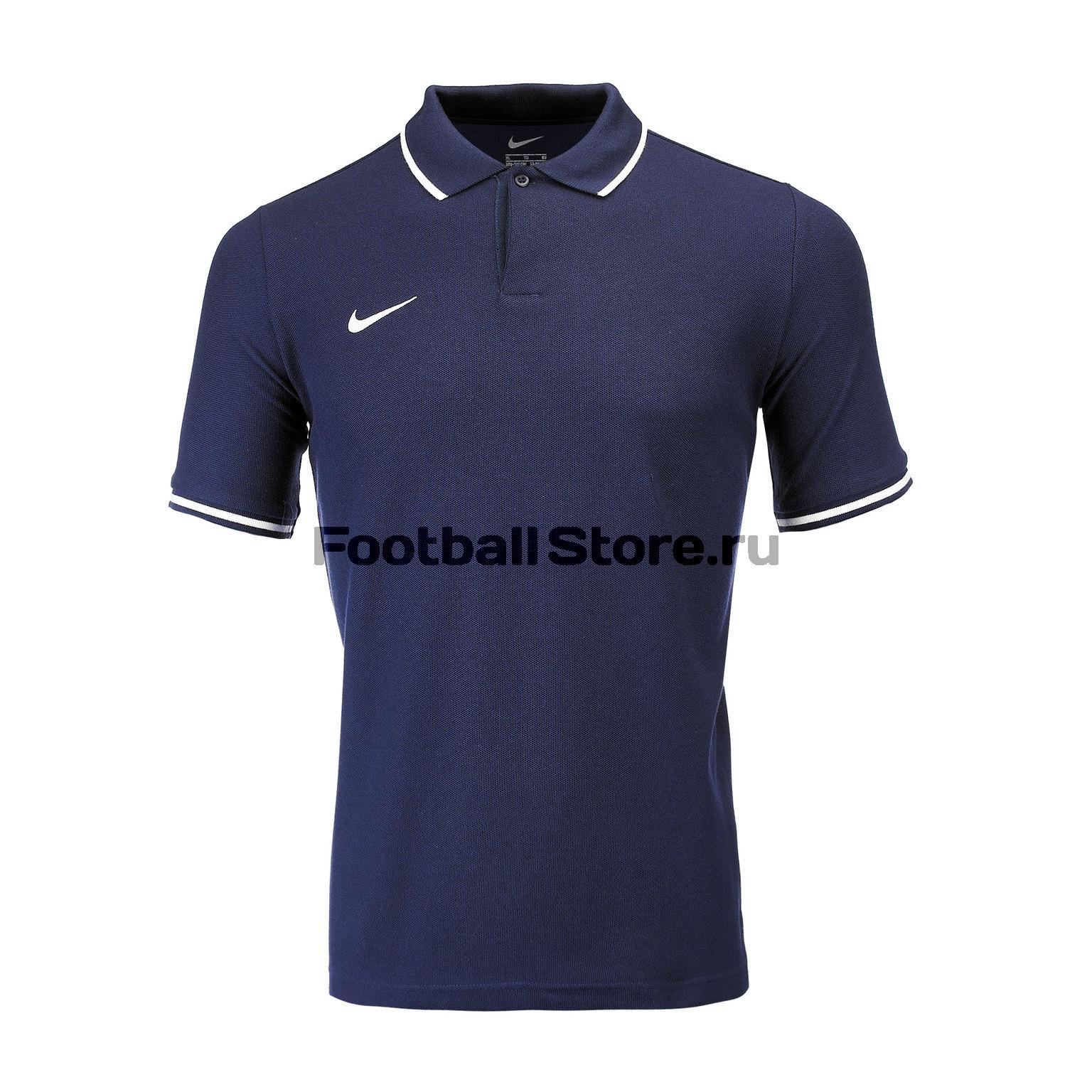 Поло подростковое Nike Polo TM Club19 AJ1546-451 футболка хлопковая nike tee club19 ss aj1504 451