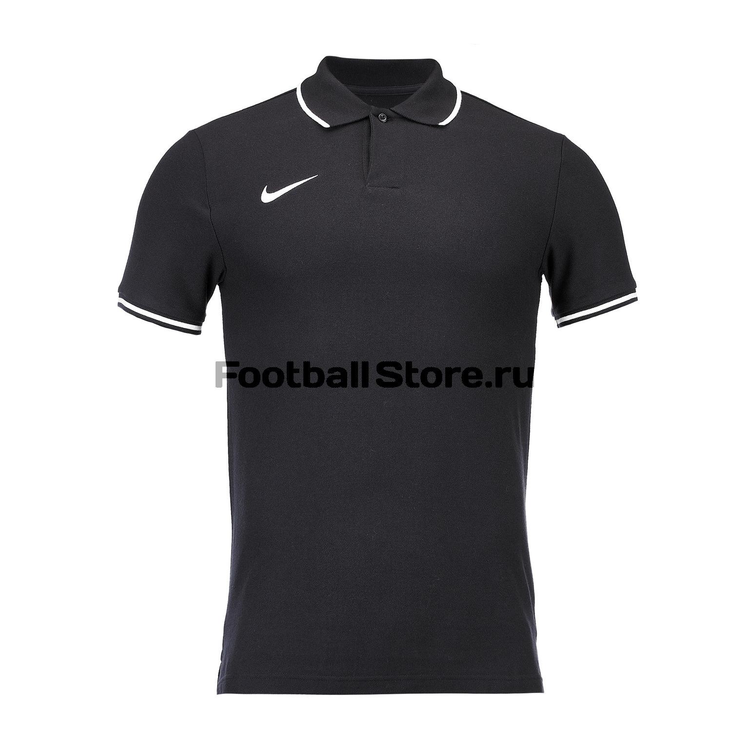 Поло Nike M Polo Club SS AJ1502-010 цена