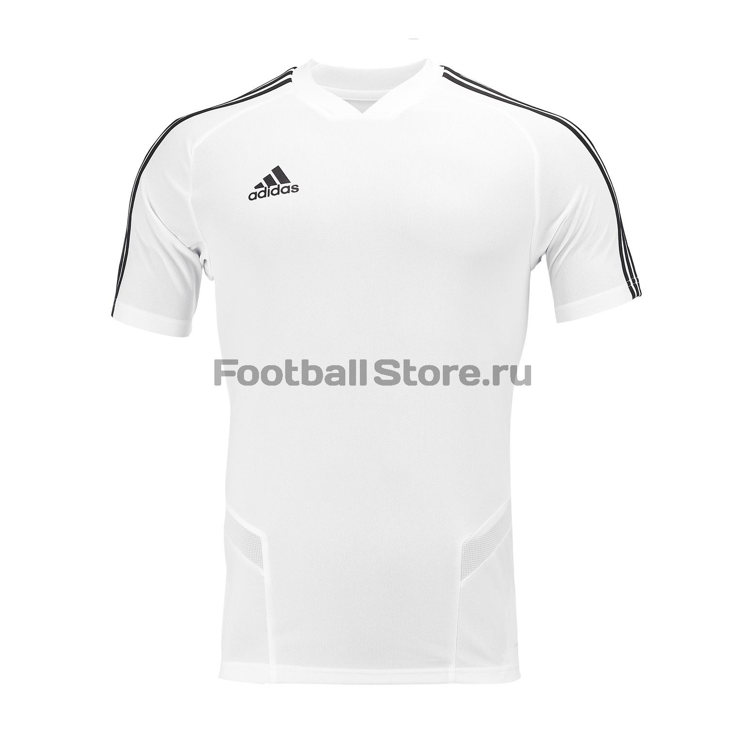 Футболка тренировочная Adidas Tiro19 TR JSY DT5288 футболка тренировочная adidas tiro19 tr jsy dt5288