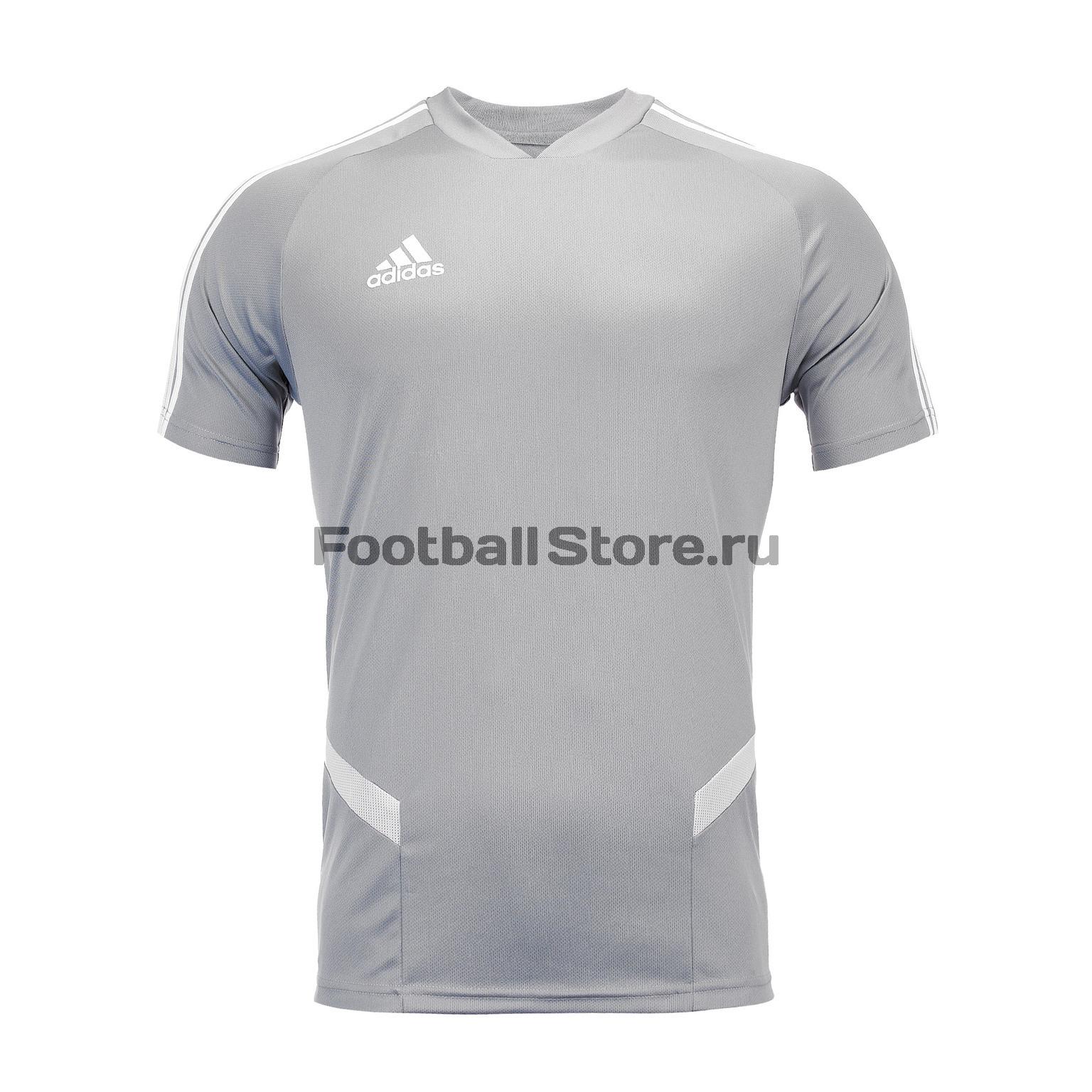 цена Футболка тренировочная Adidas Tiro19 TR JSY DW4807 онлайн в 2017 году