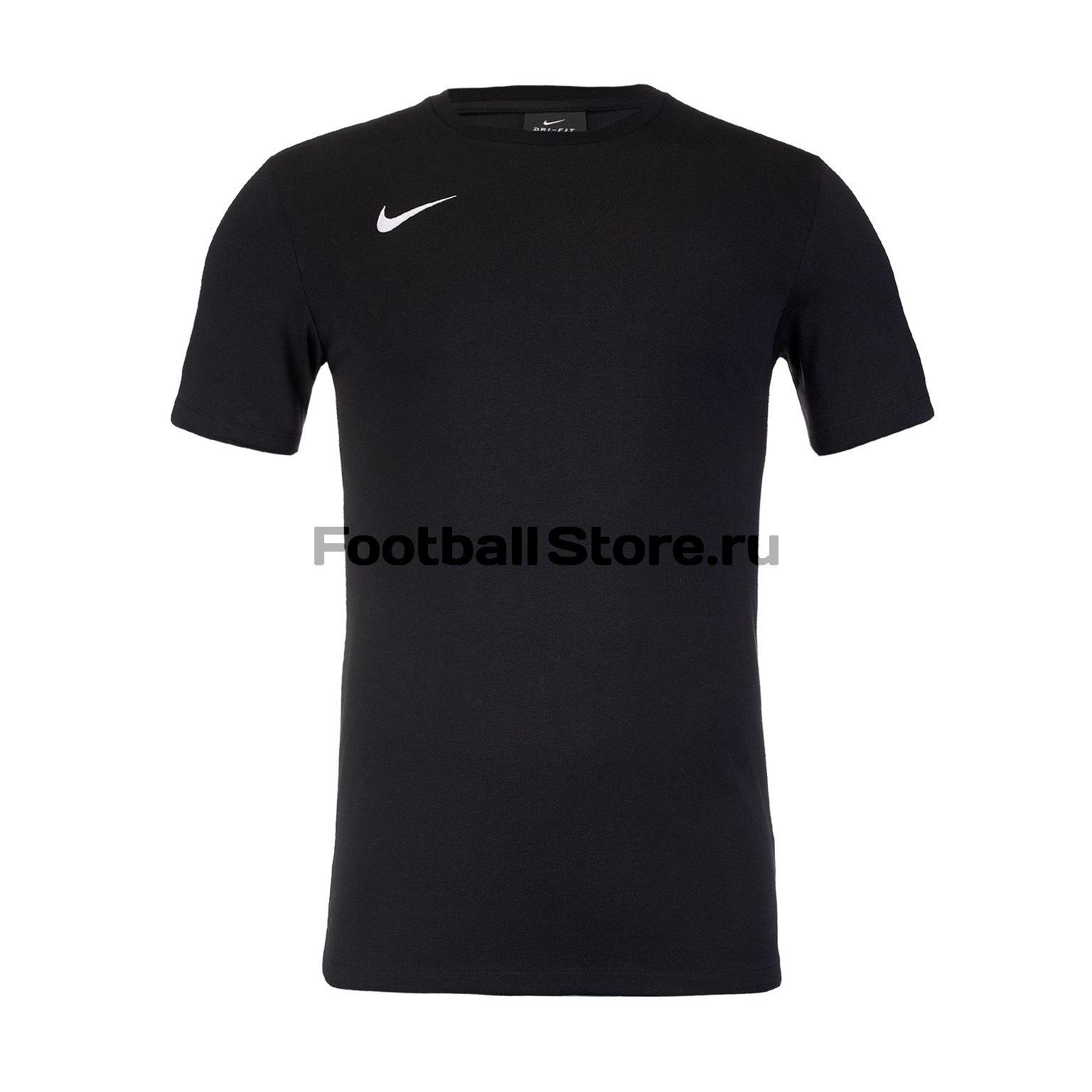 Футболка хлопковая Nike Tee Club19 SS AJ1504-010 цена