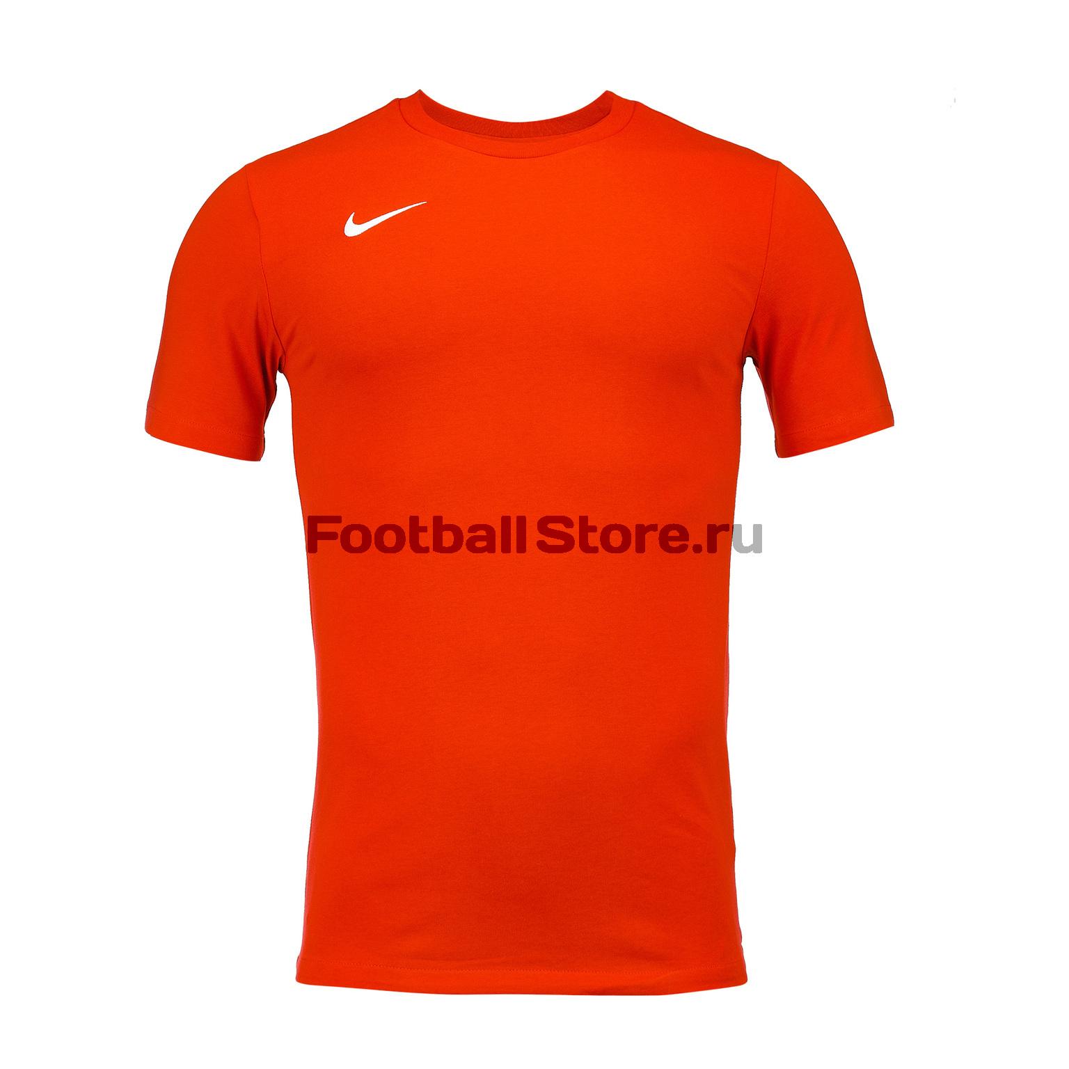 Футболка хлопковая Nike Tee Club19 SS AJ1504-657 цена
