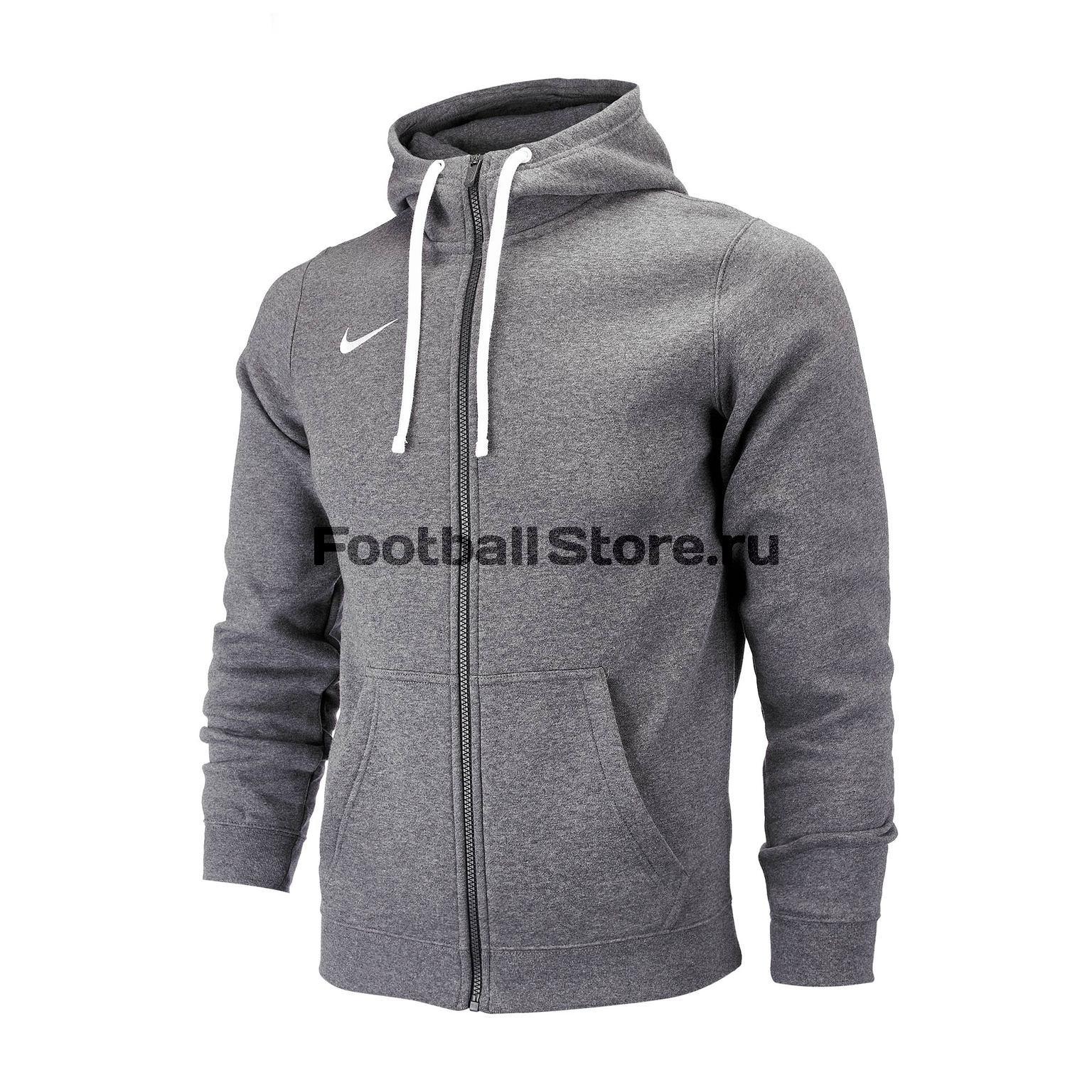 Толстовка Nike Hoodie FZ FLC Club19 AJ1313-071 цена