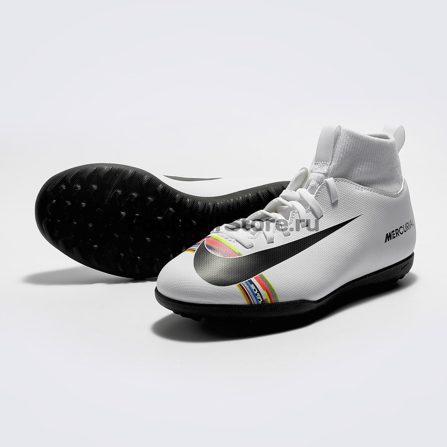 Шиповки детские Nike Superfly 6 Club CR7 TF AJ3088-109