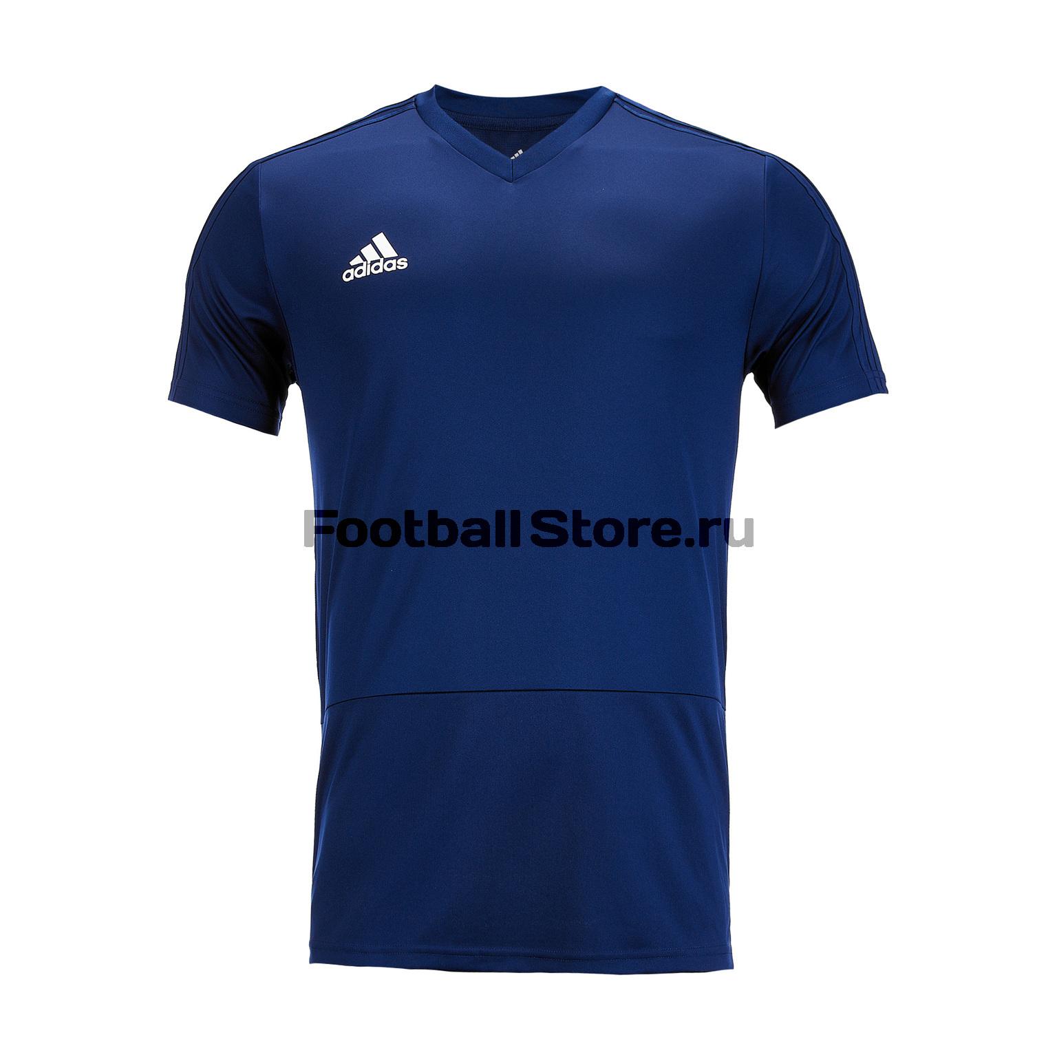цена Футболка тренировочная Adidas Con18 CV8233 онлайн в 2017 году