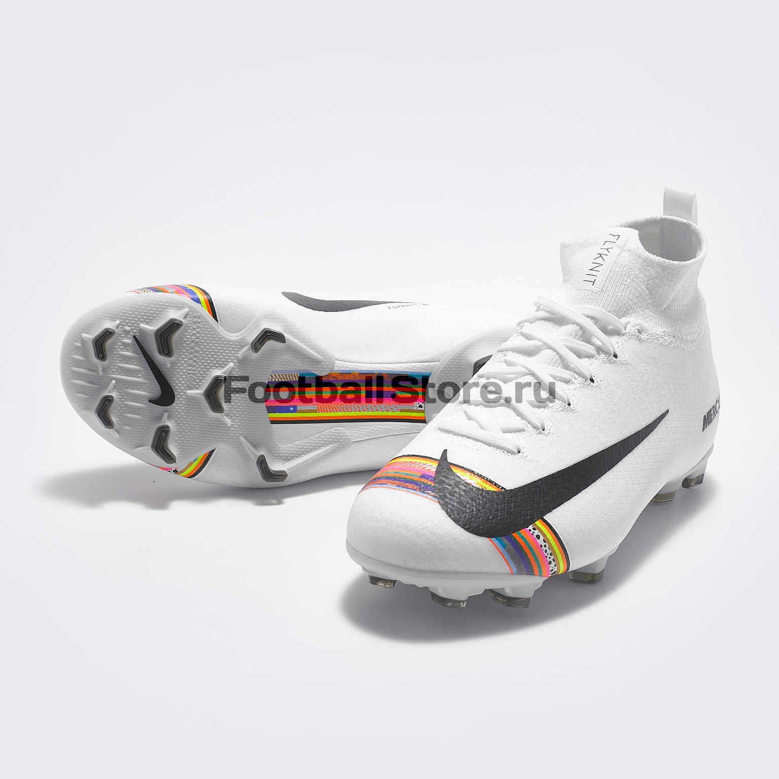 Бутсы детские Nike Superfly 6 Elite CR7 FG AJ3086-109 бутсы nike mercurial vapor cr7 fg 684860 014