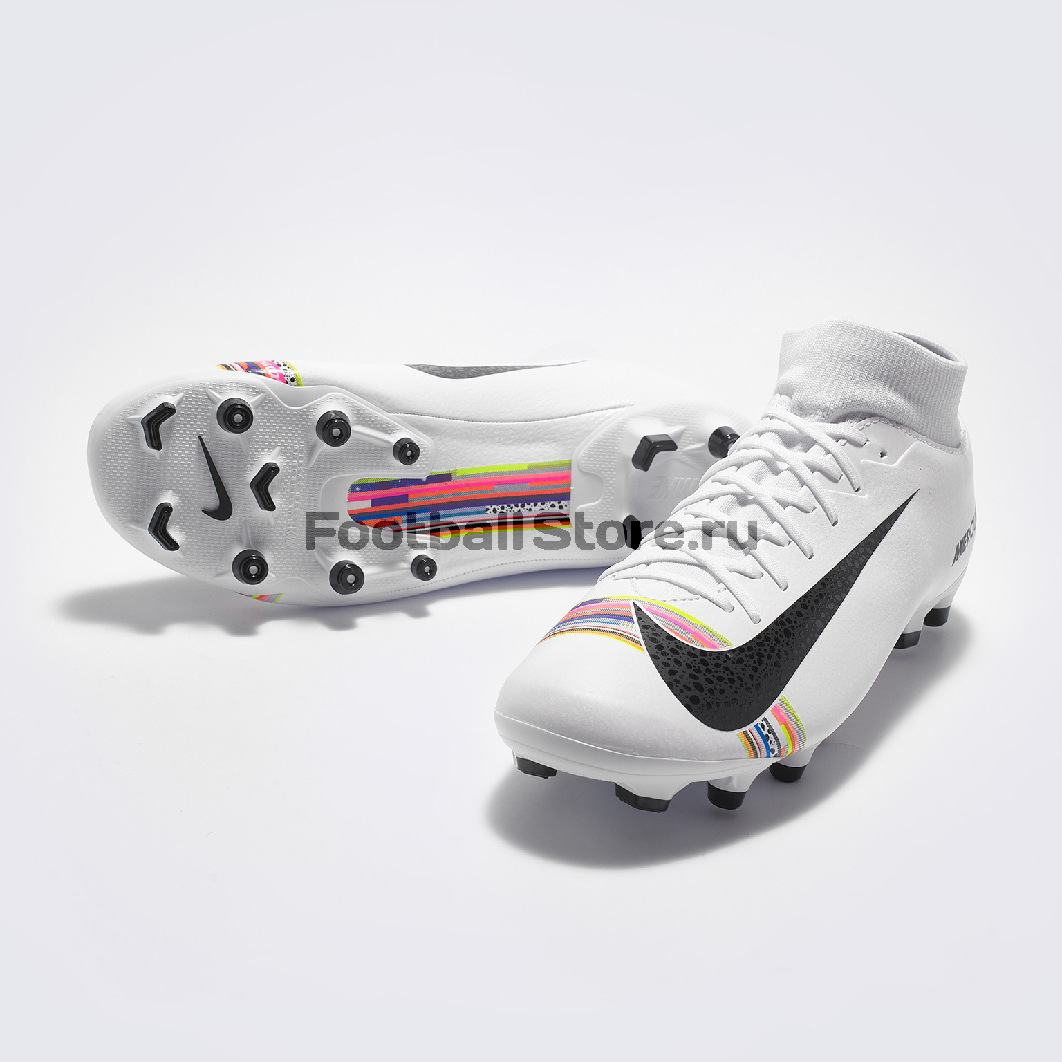 Бутсы Nike Superfly 6 Academy CR7 FG/MG AJ3541-109 бутсы nike mercurial vapor cr7 fg 684860 014