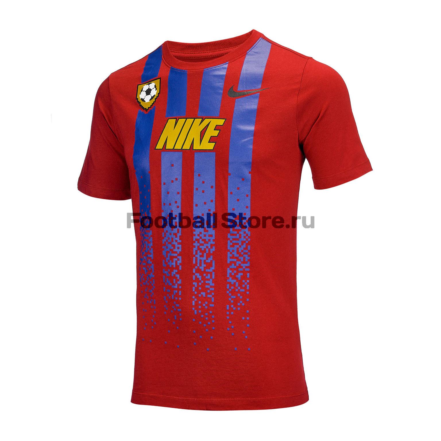Футболка подростковая Nike Tee Soccer Jersey BQ2669-620