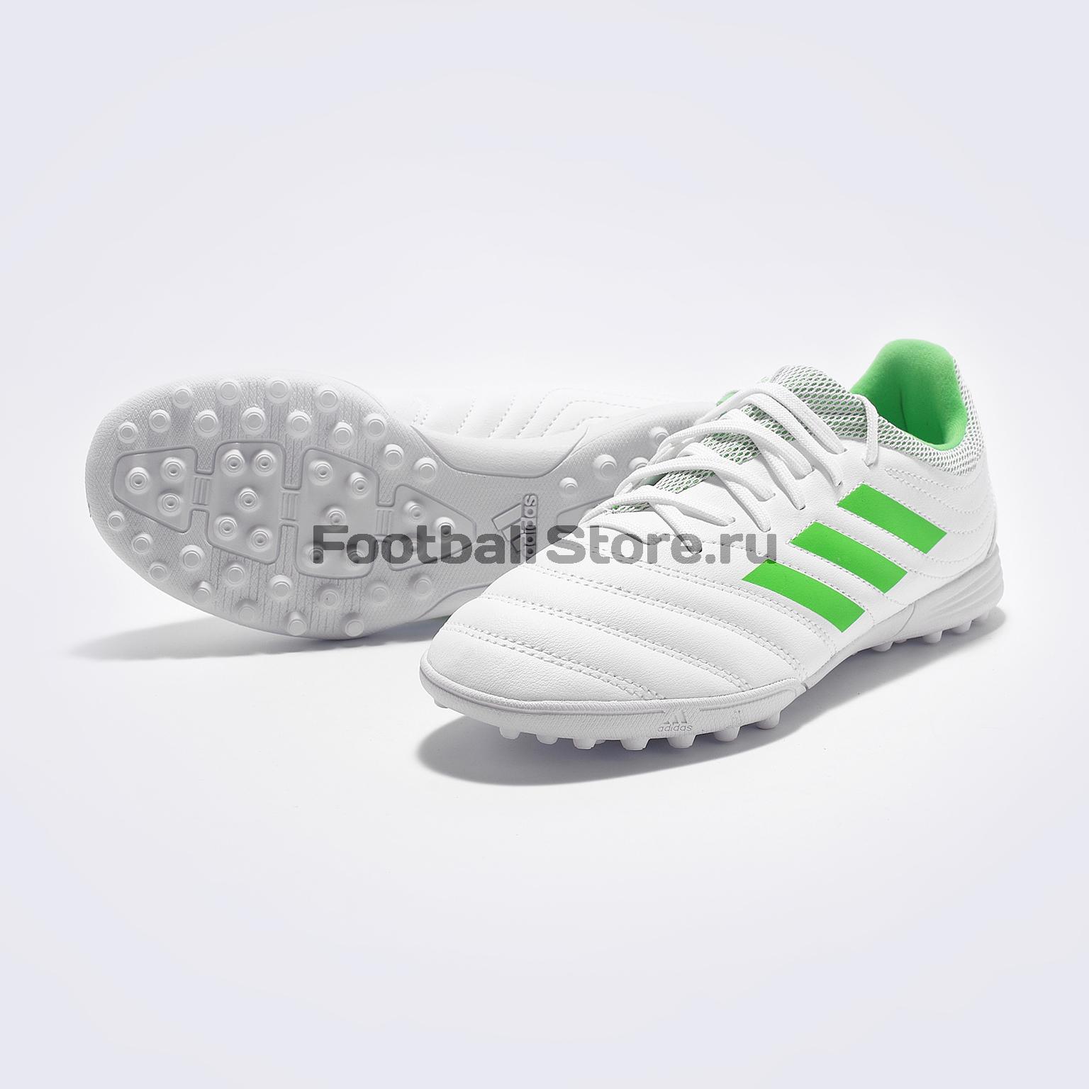 Шиповки детские Adidas Copa 19.3 TF D98086 adidas шиповки adidas ace 16 3 primemesh tf aq2564