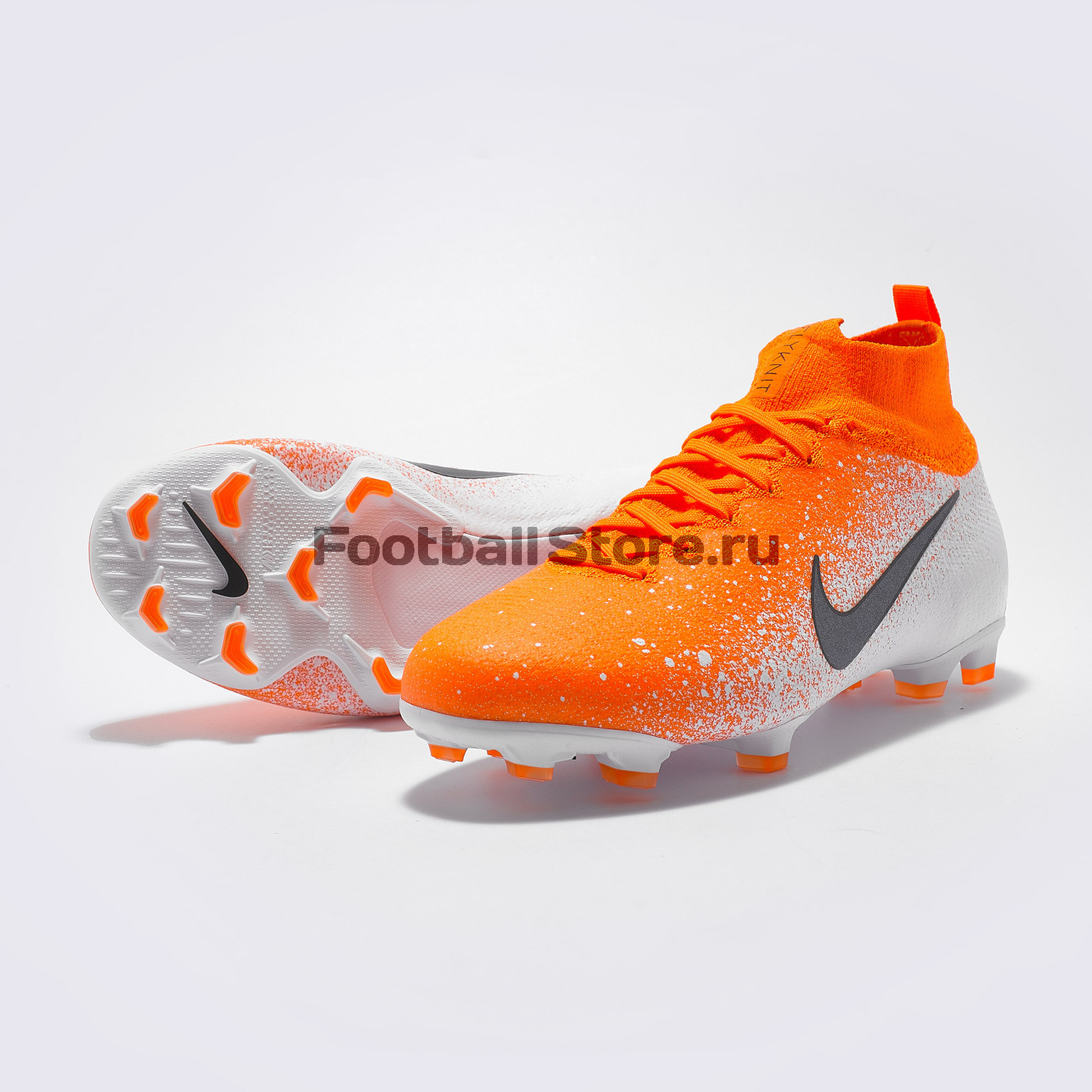 Бутсы детские Nike Superfly 6 Elite FG AH7340-801 бутсы nike superfly 6 elite cr7 fg aj3547 600