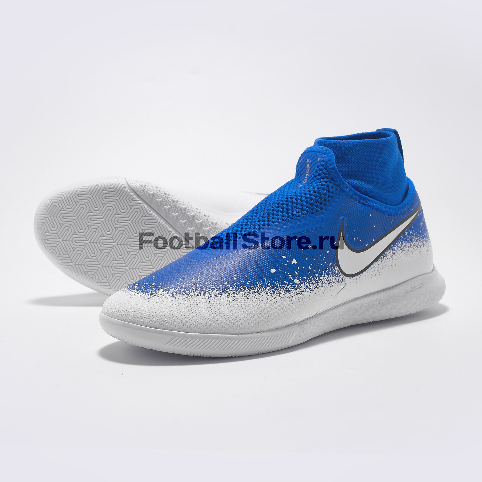 купить Футзалки Nike React Phantom Vision Pro DF IC AO3276-410 недорого