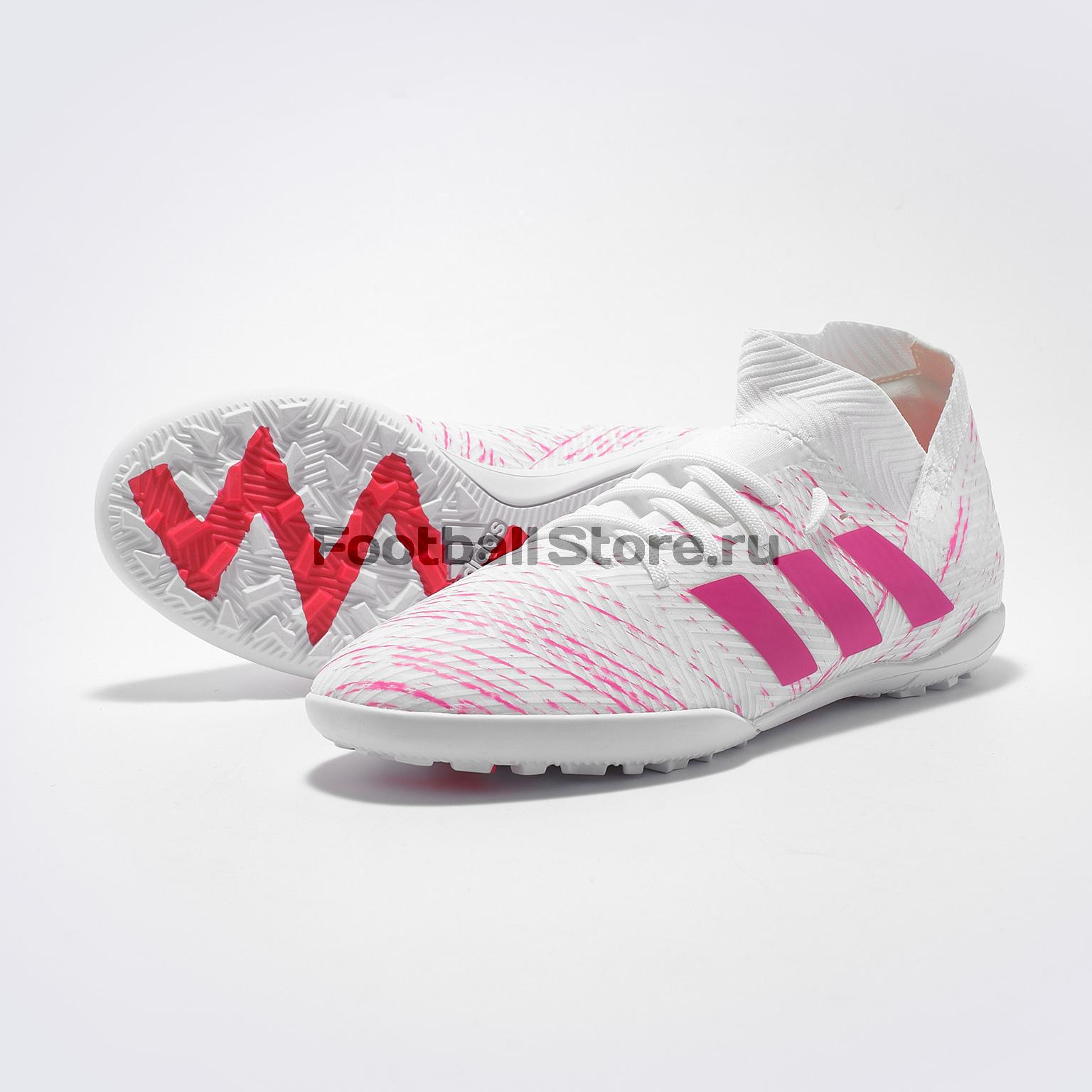 Шиповки детские Adidas Nemeziz 18.3 TF CM8518 adidas шиповки adidas ace 16 3 primemesh tf aq2564