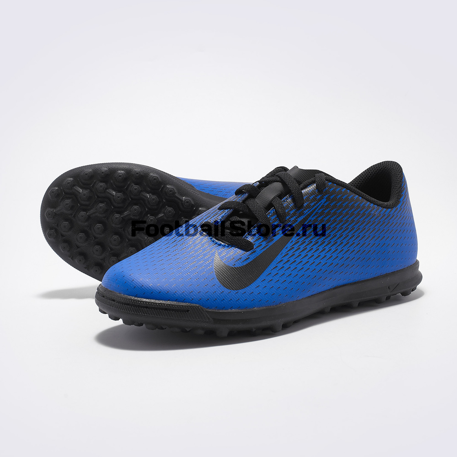 цены на Шиповки детские Nike Bravata II TF 844440-400  в интернет-магазинах