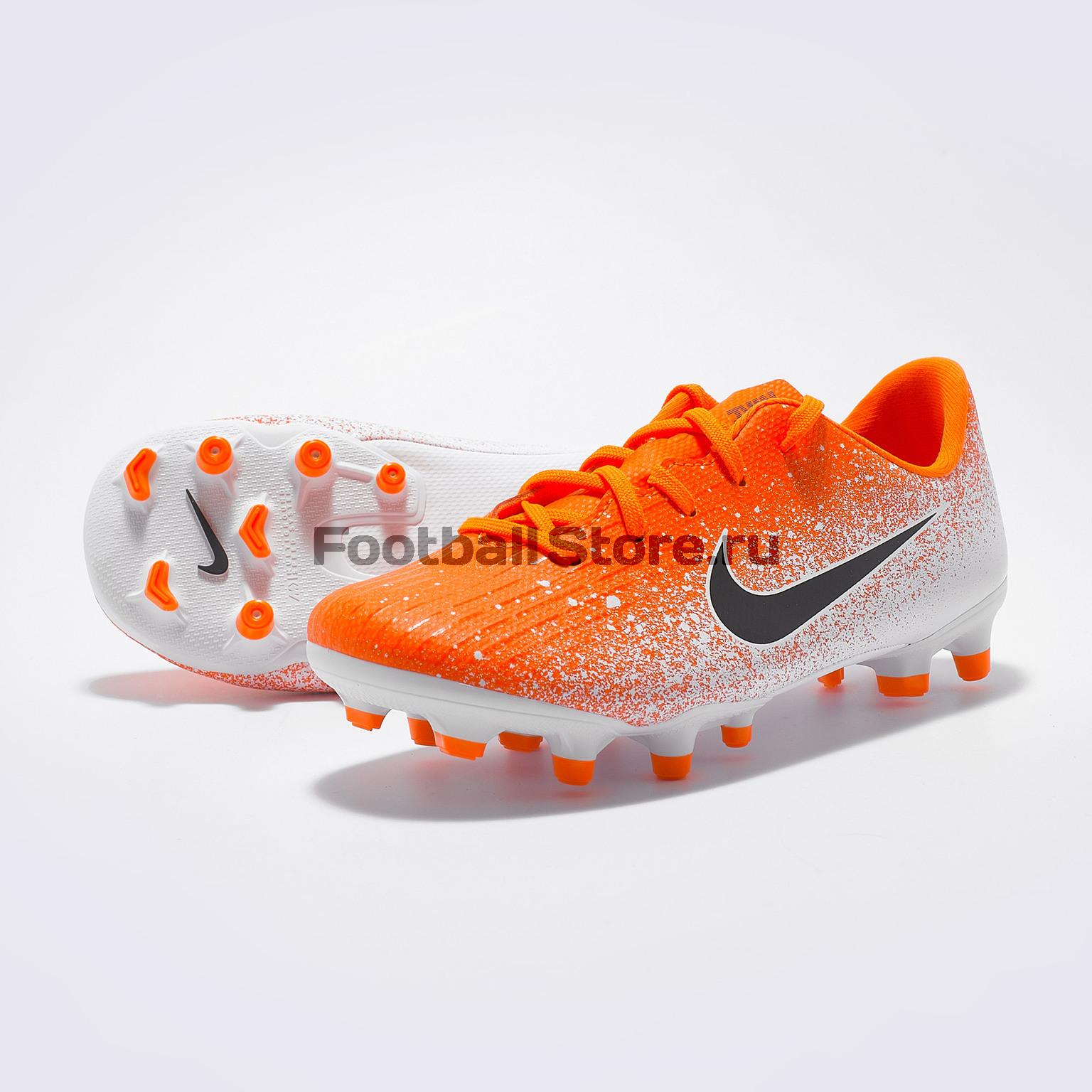 Бутсы детские Nike Vapor 12 Academy PS FG/MG AH7349-801 бутсы детские nike vapor 12 academy gs fg mg ah7347 070
