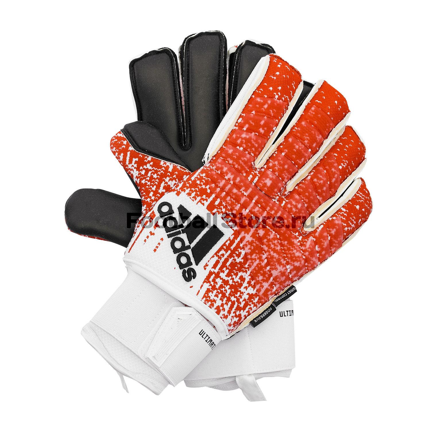Перчатки вратарские Adidas Predator Ultimate DN8583 цена в Москве и Питере