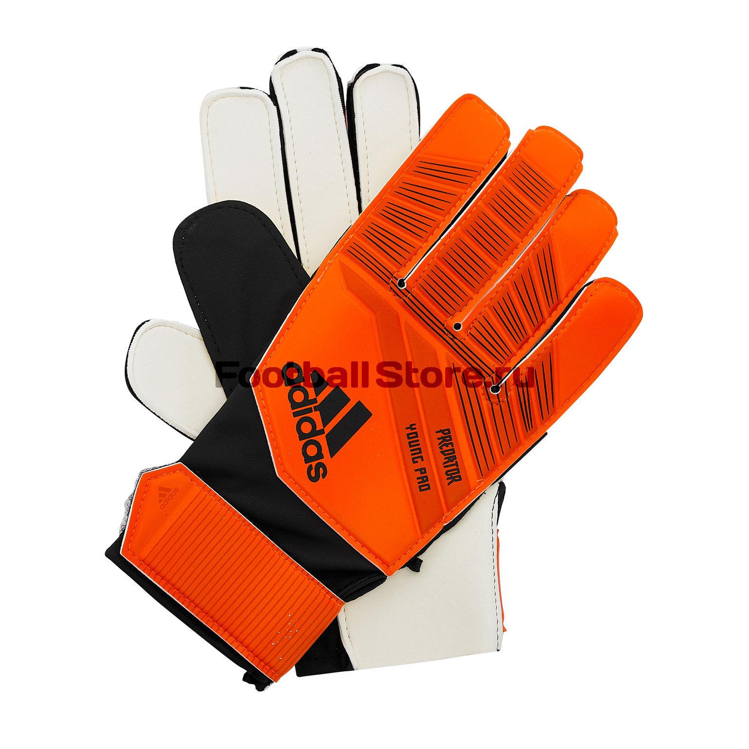 Перчатки вратарские детские Adidas Predator DN8559 перчатки вратарские adidas classic lite ap7011