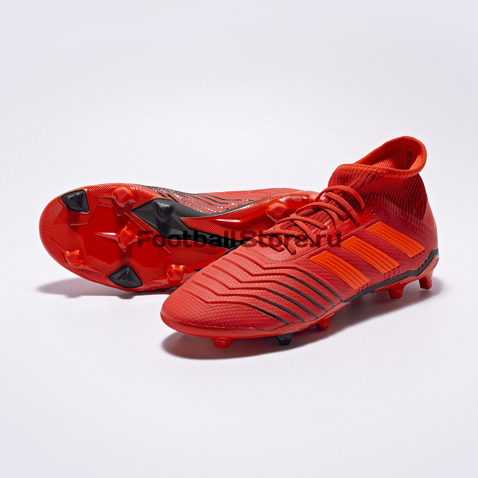 Бутсы детские Adidas Predator 19.1 FG CM8529 цена
