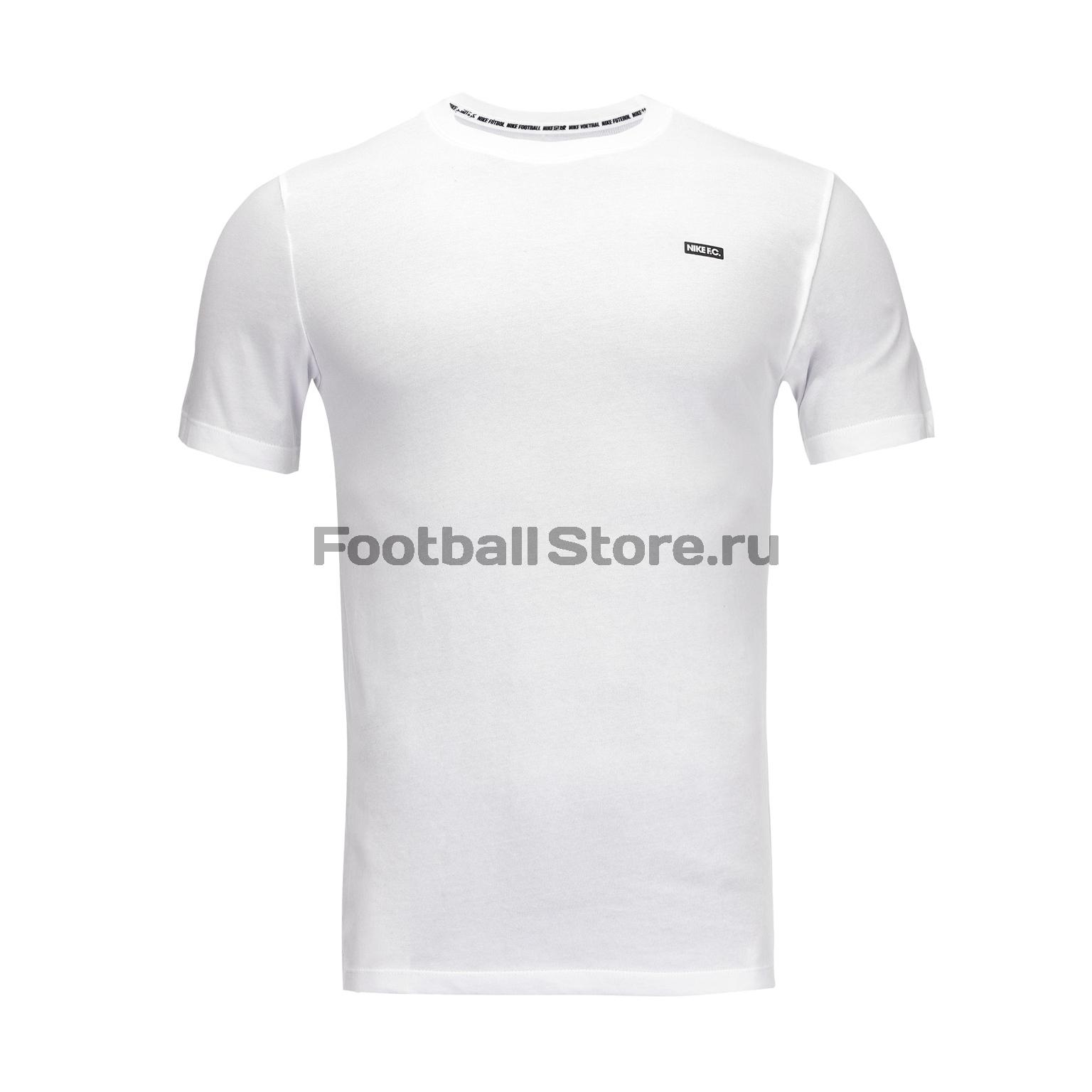 Футболка Nike F.C. Dry Tee Small Block BQ7680-100 недорго, оригинальная цена