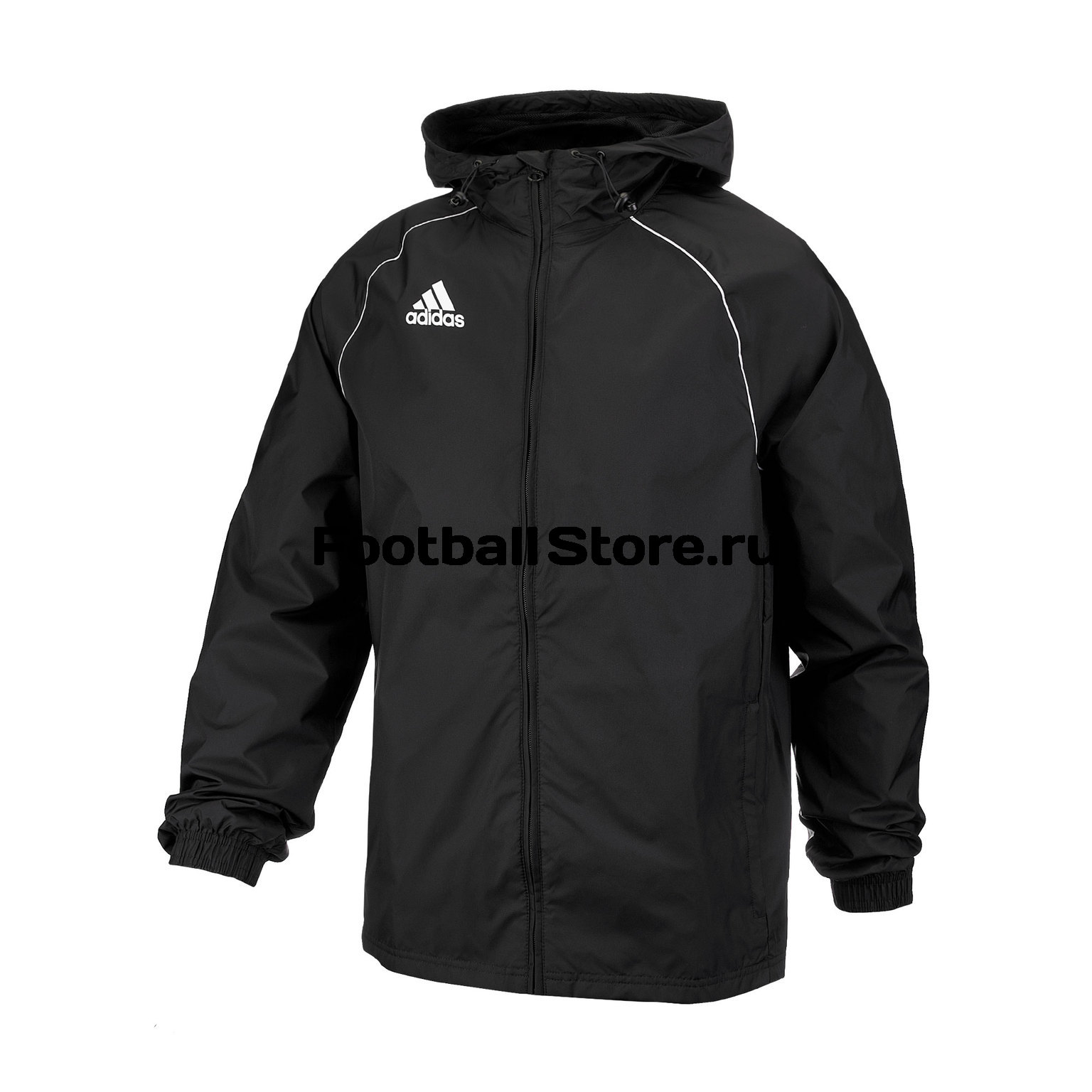 Ветровка Adidas Core18 Rain Jkt CE9048 олимпийка мужская adidas tan club h jkt цвет черный dw9360 размер xs 40 42