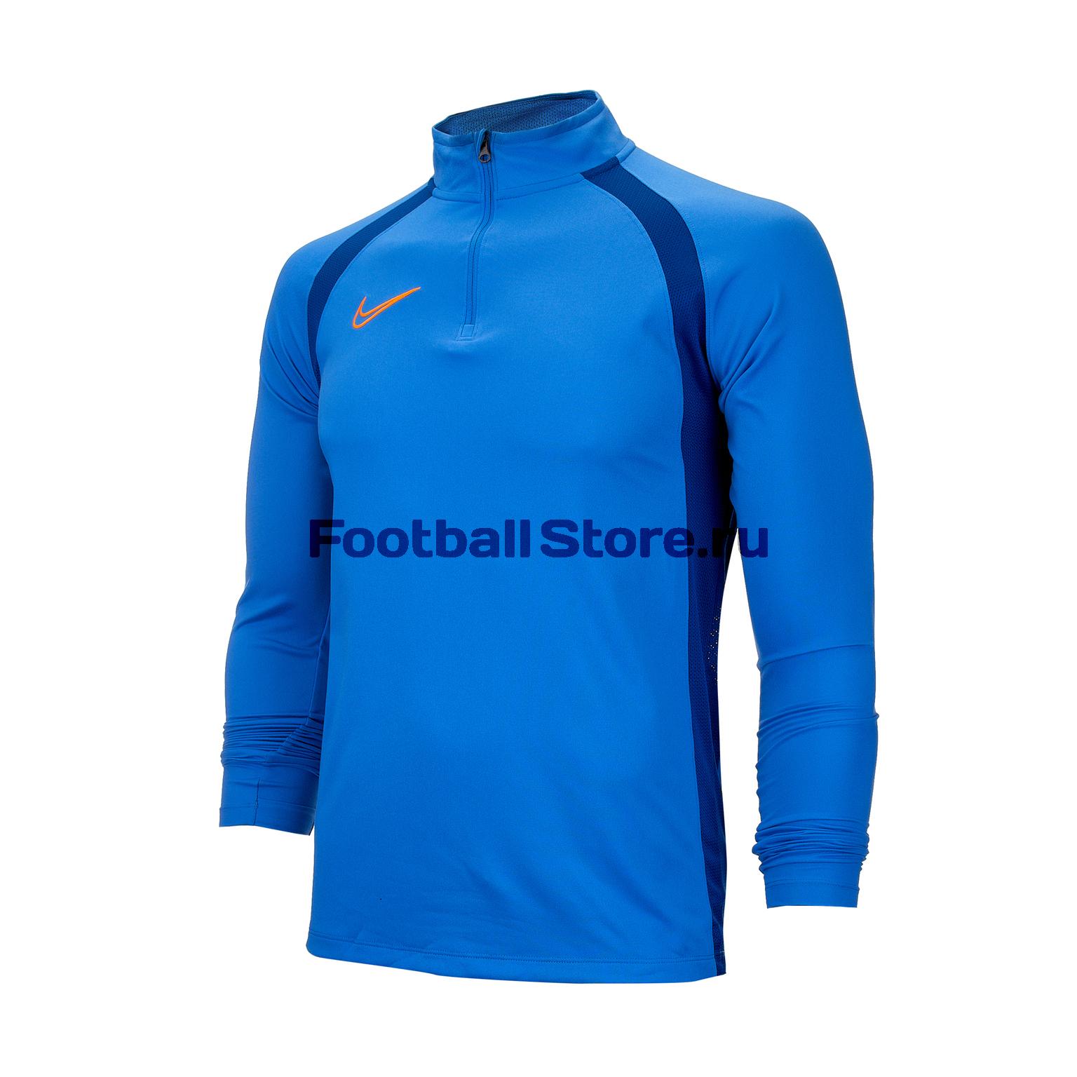 Свитер тренировочный Nike Dry Academy Dril Top AQ1245-402 свитер тренировочный nike academy 839344 451