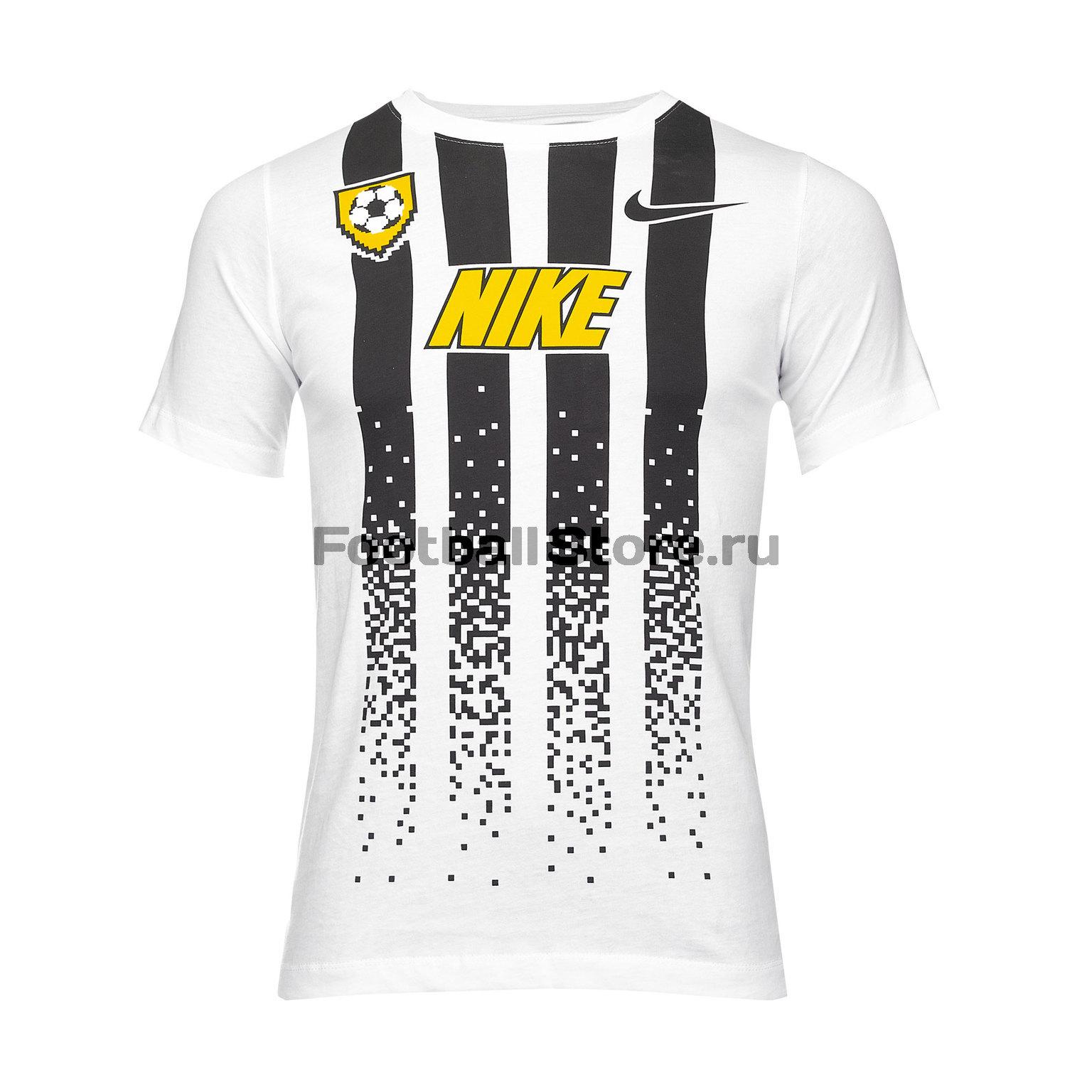Футболка подростковая Nike Tee Soccer Jersey BQ2669-100 футболка подростковая nike team club blend tee 658494 451