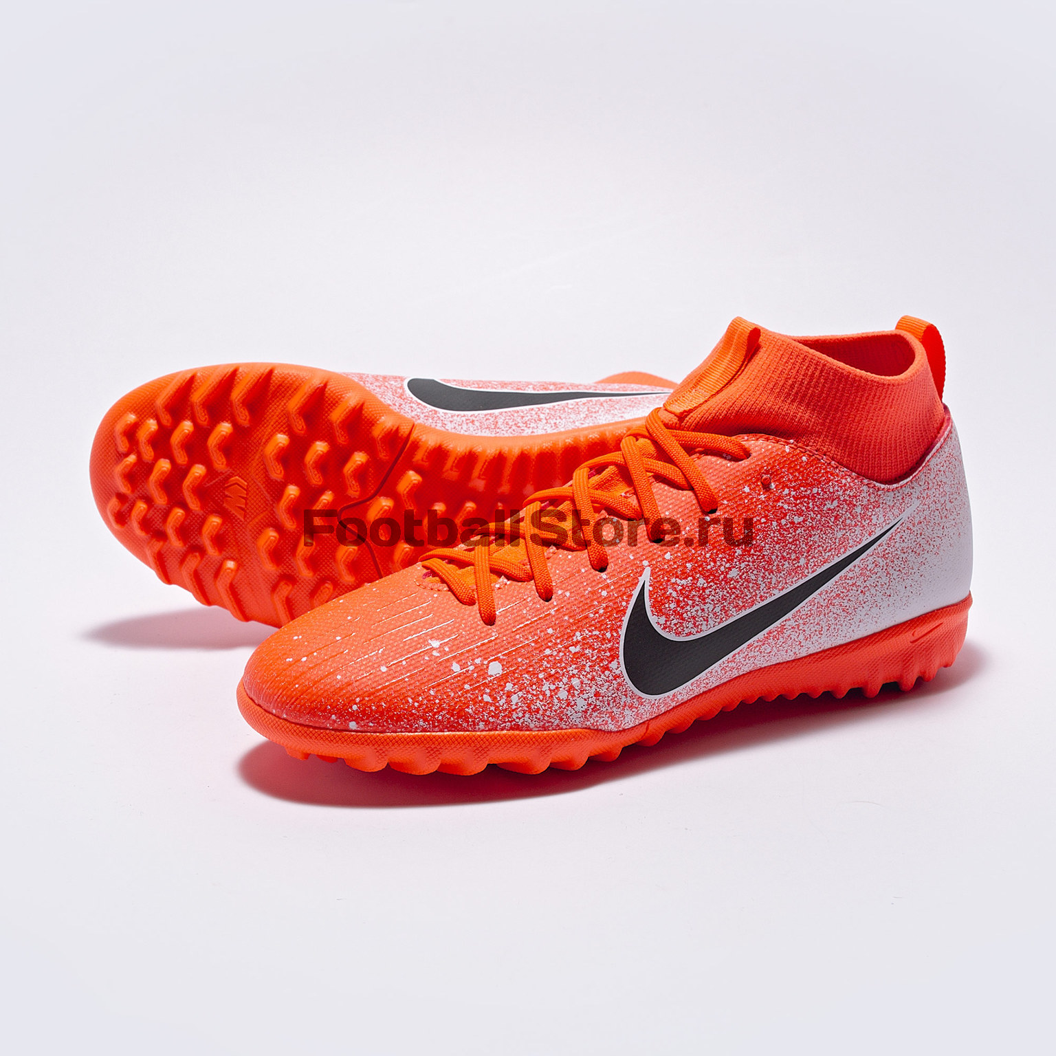 Шиповки детские Nike SuperFly Academy GS TF AH7344-801