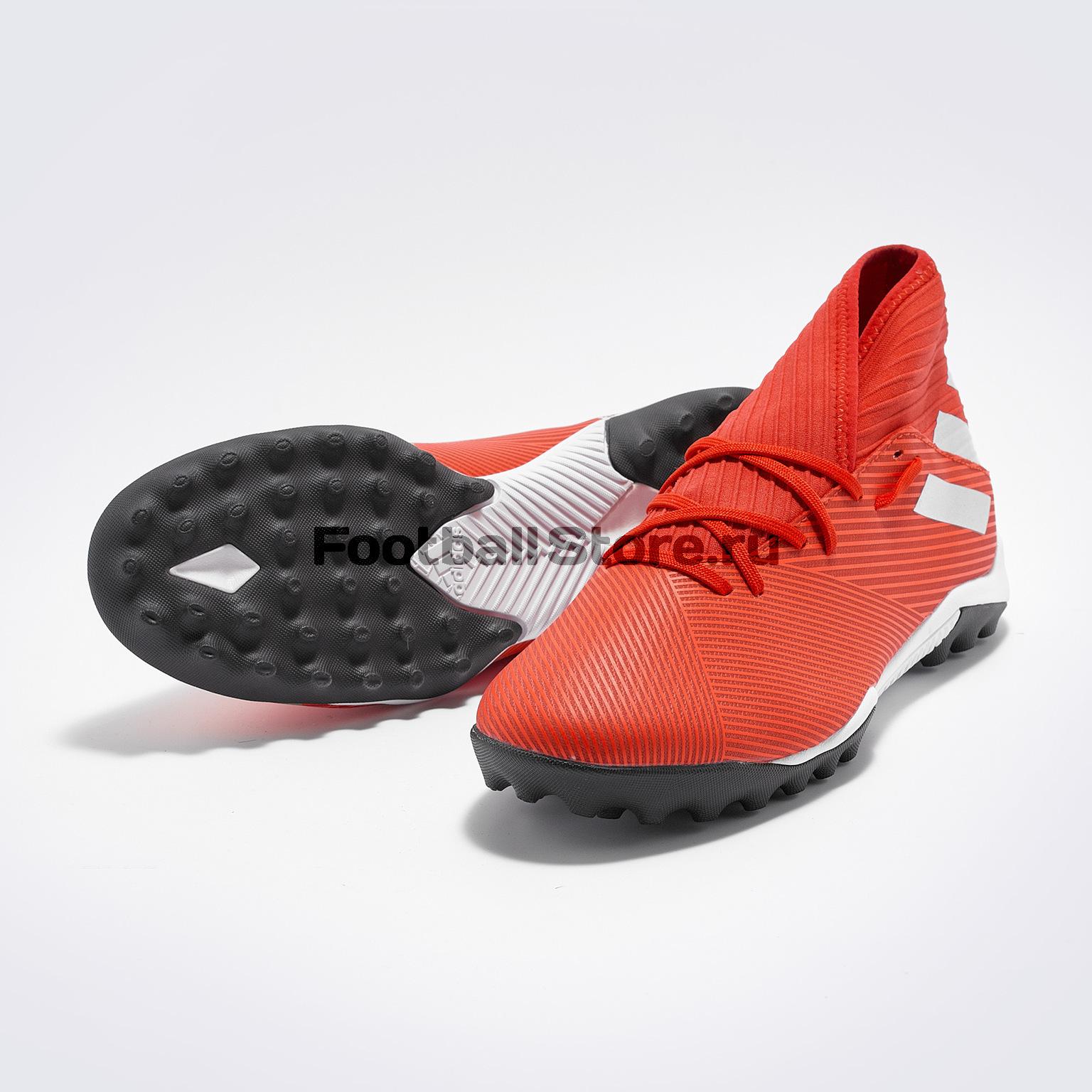 Шиповки Adidas Nemeziz 19.3 TF F34427 шиповки детские adidas x tango 18 3 tf db2422