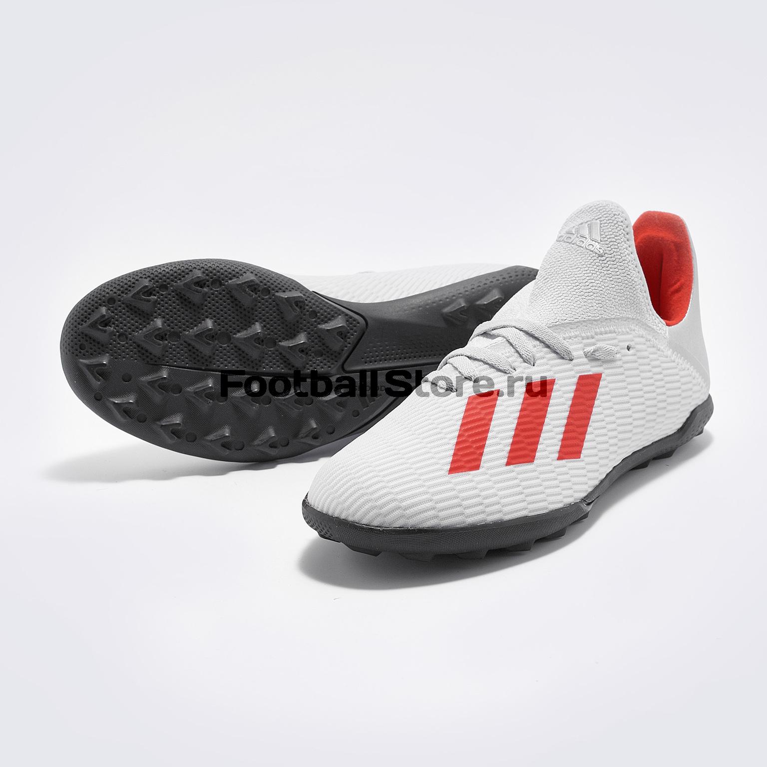 Шиповки детские Adidas X 19.3 TF F35358 шиповки детские adidas x tango 18 3 tf db2422
