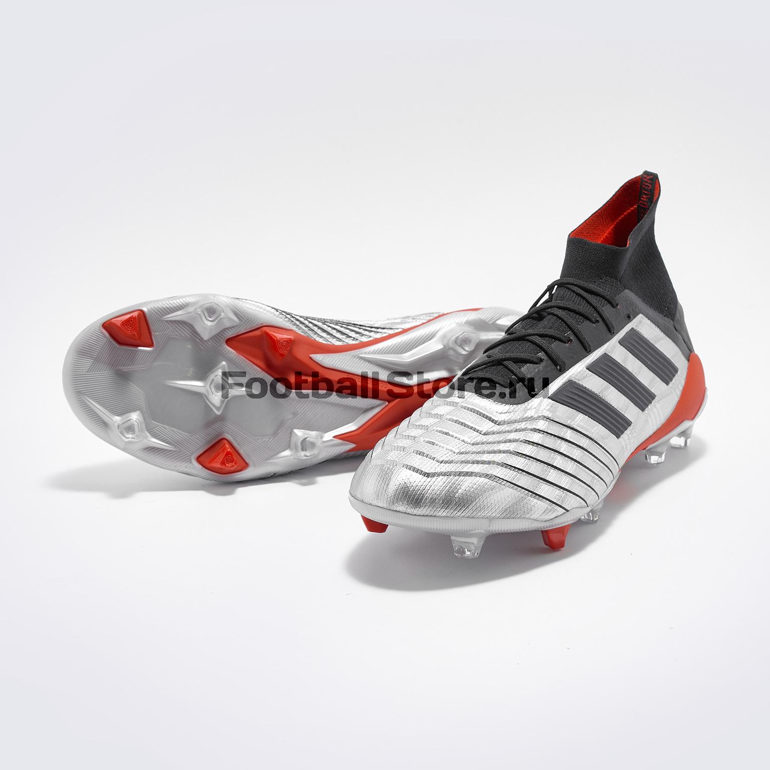Бутсы Adidas Predator 19.1 FG F35607 цена
