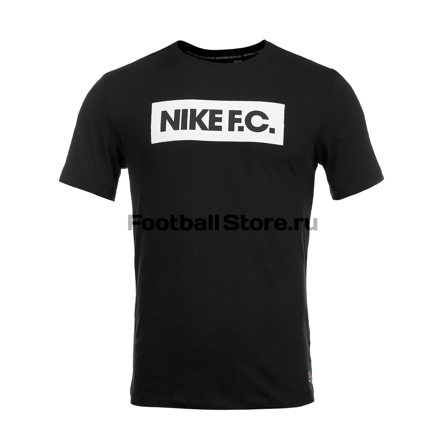Футболка Nike F.С. Dry Tee Seasonal Block AJ7413-010 недорго, оригинальная цена